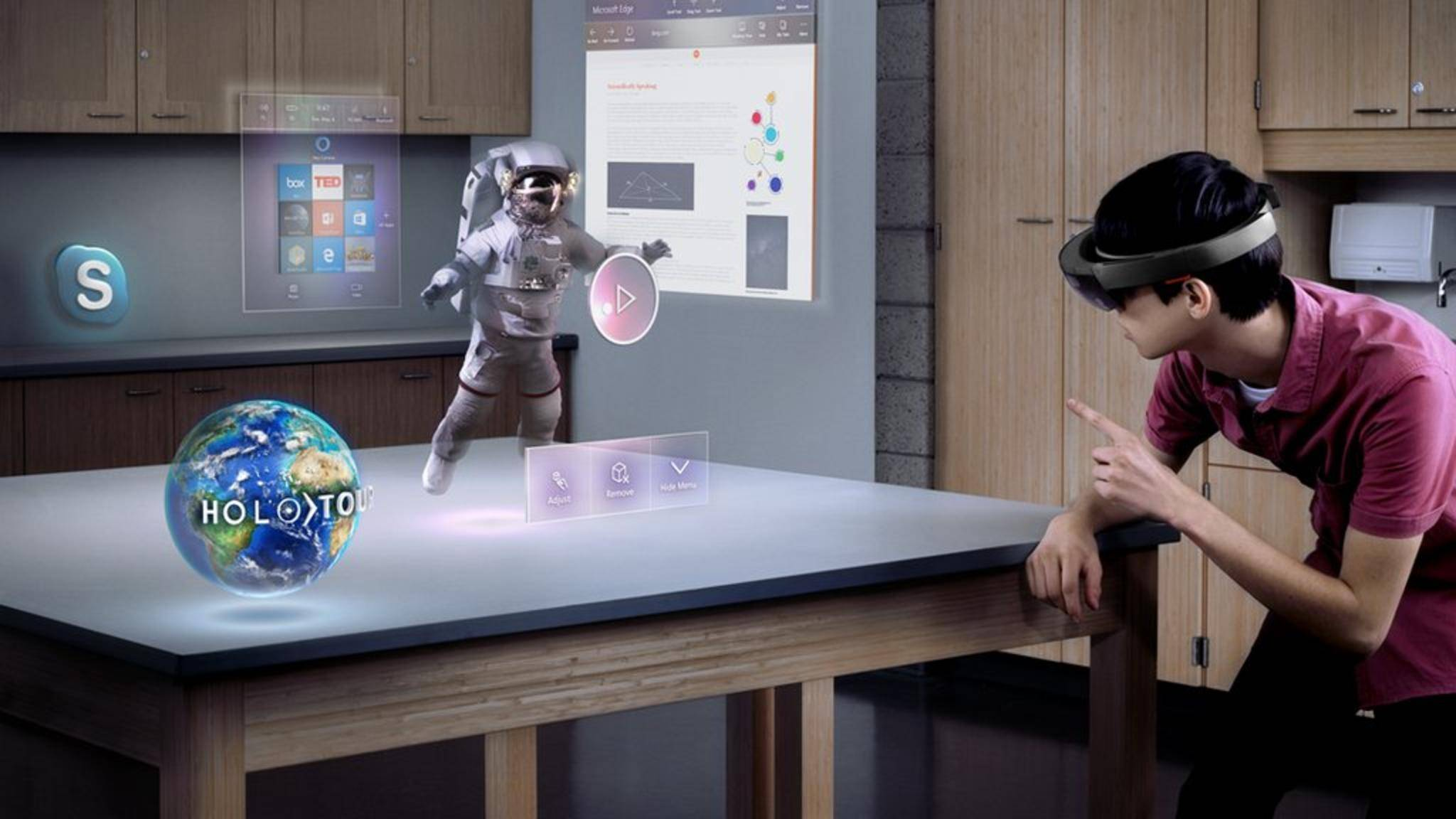 Die HoloLens 2 soll einen Co-Prozessor zur KI-Berechnung erhalten.