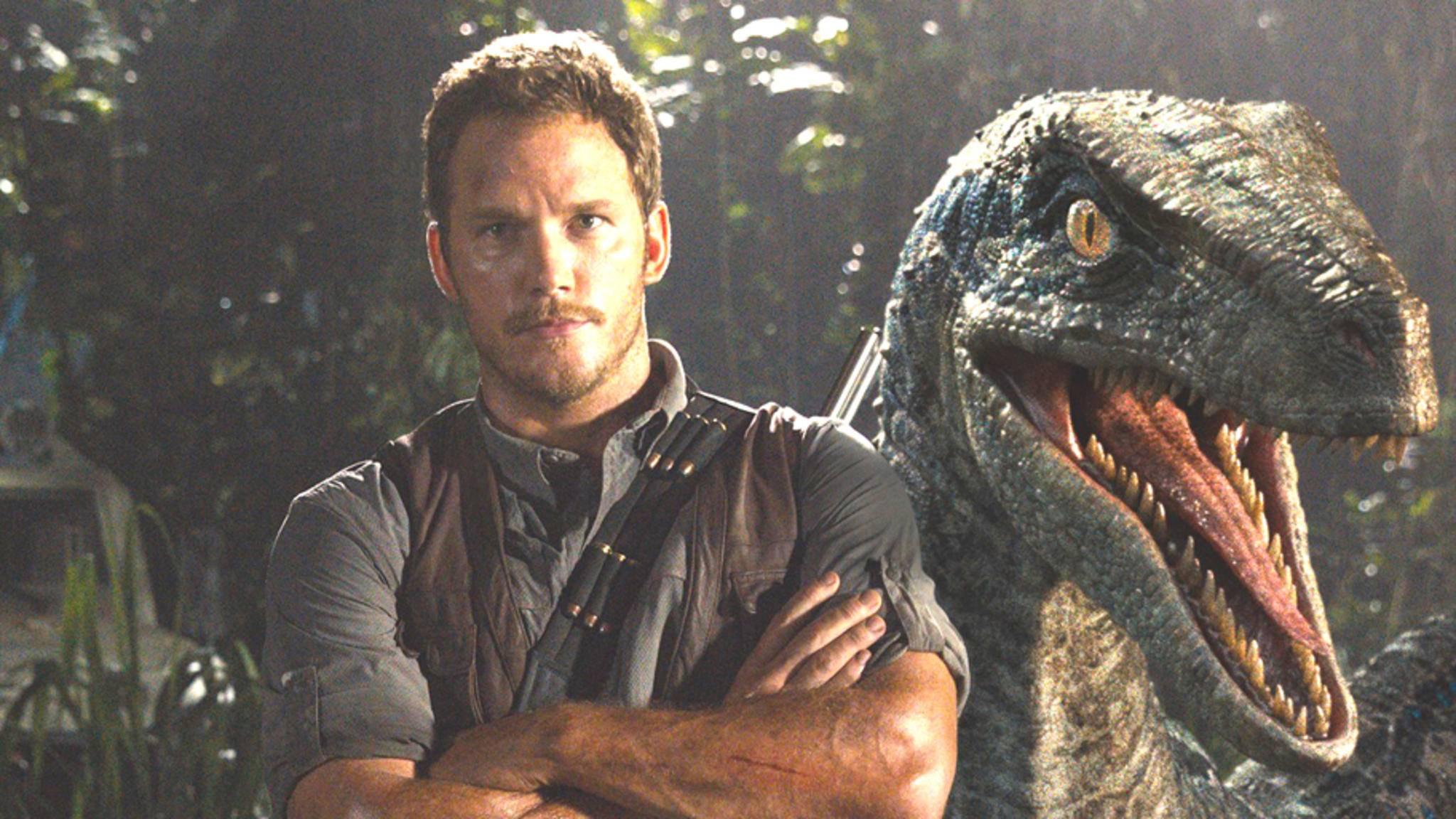 """Chris Pratt wird im Sequel """"Jurassic World 2"""" ebenfalls mit dabei sein."""