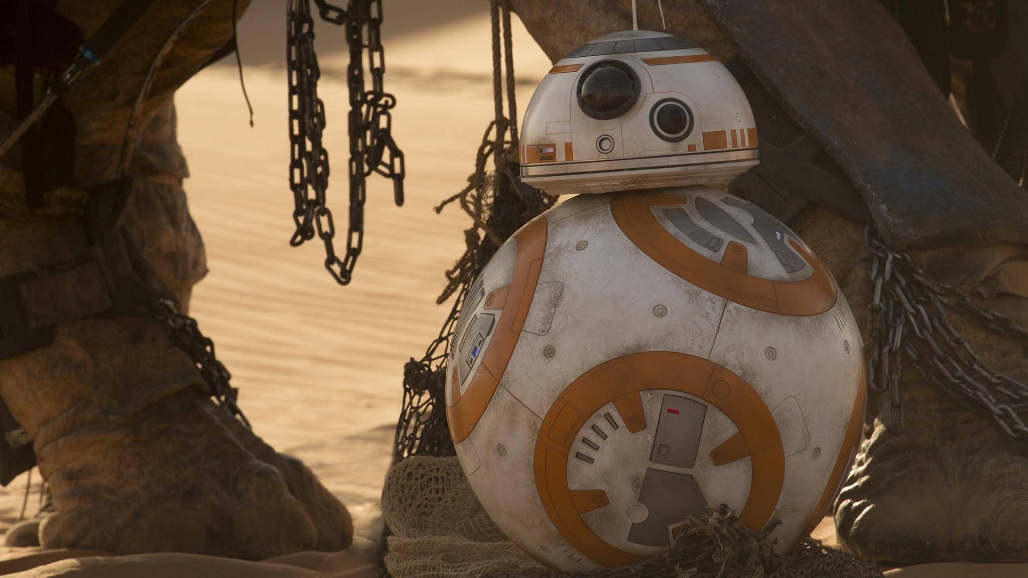 """Ob es auch in der """"Star Wars""""-Serie wieder ein paar putzige Droiden zu sehen gibt?"""