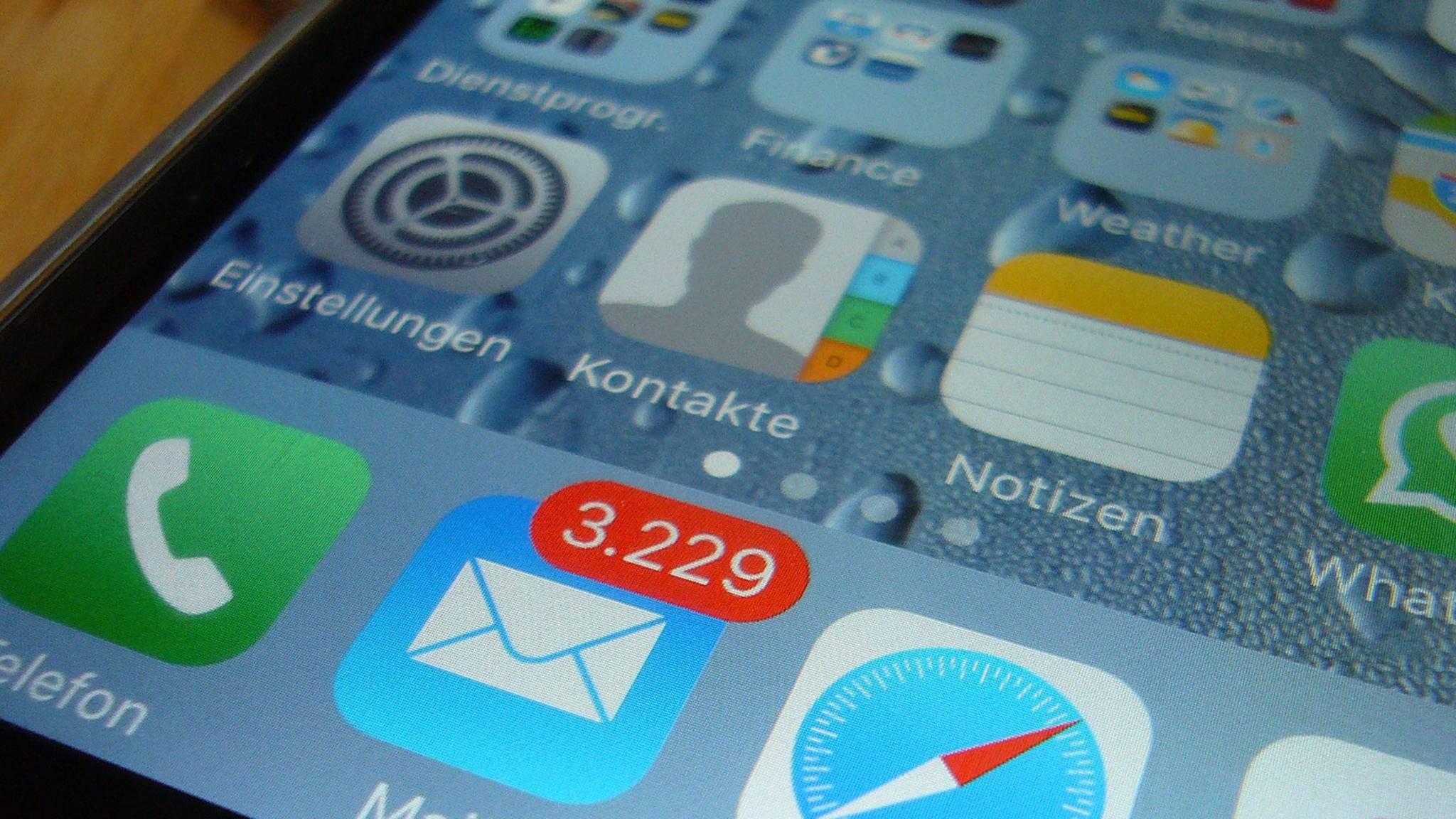 iPhone-Kontakte können auf mehrere Arten gesichert und exportiert werden.