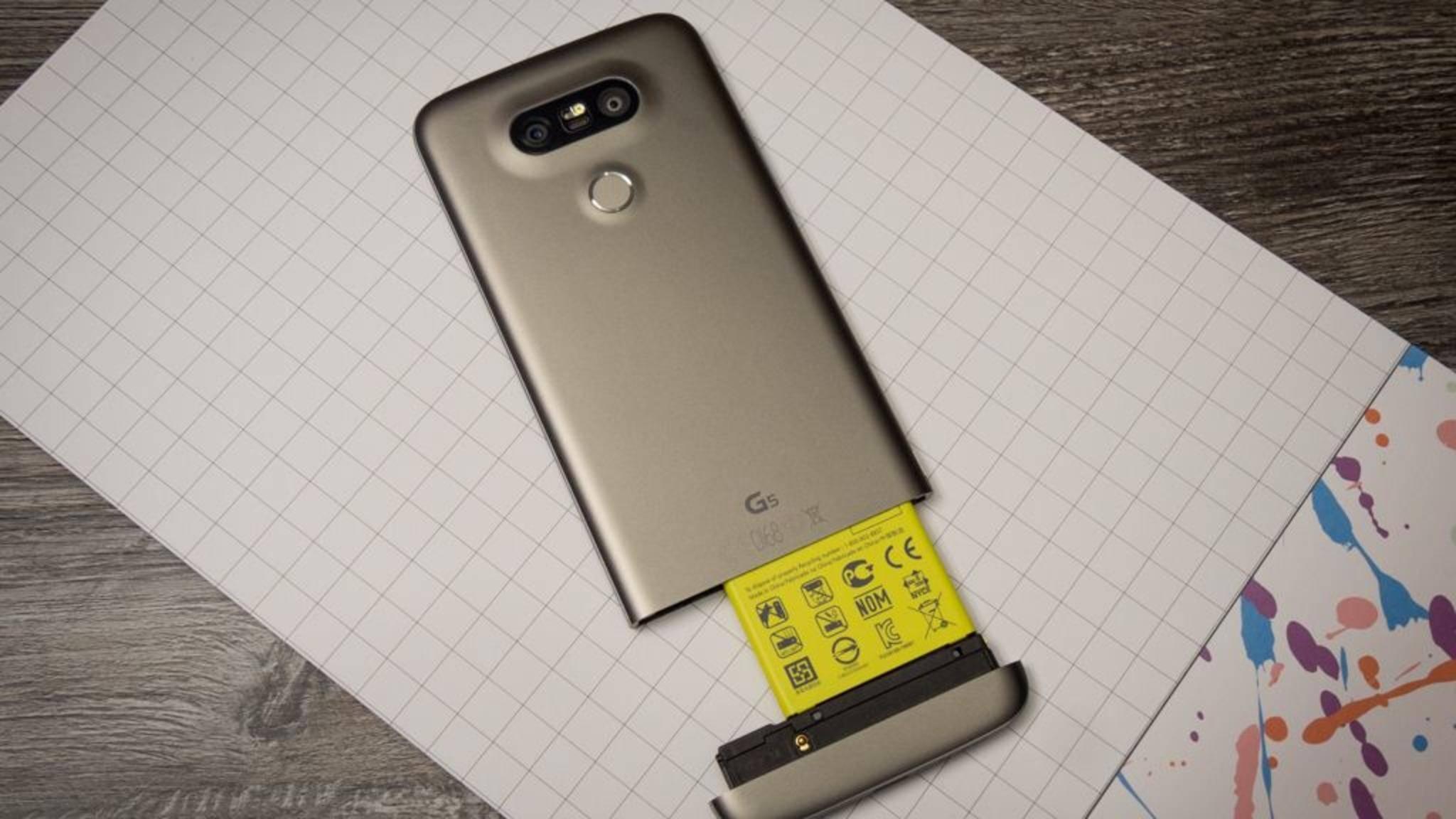 Im Vergleich zum Vorgänger LG G5 (Foto) soll das G6 doch teurer werden.