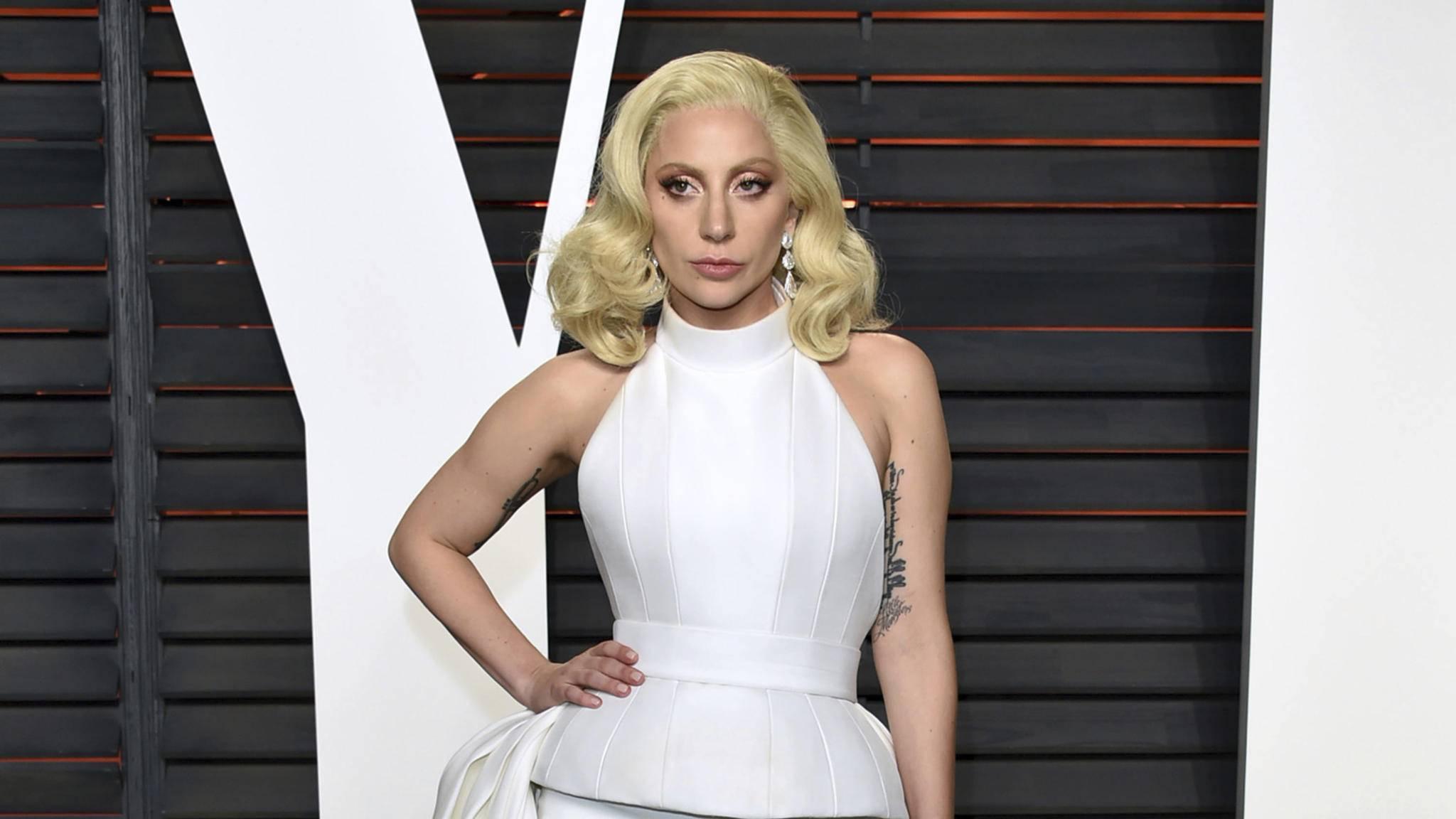 Pop-Ikone Lady Gaga braucht im Backstage-Bereich unbedingt ihre Smoothies.