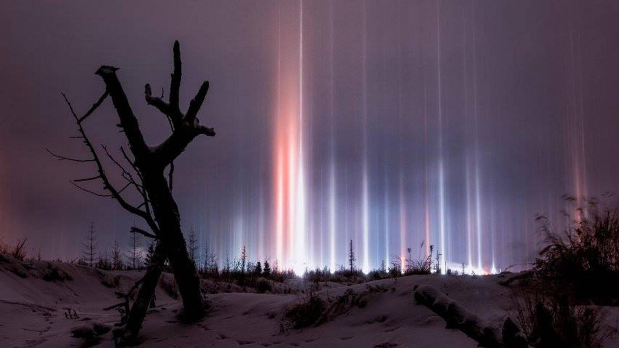 Dieses beeindruckende Naturphänomen war Anfang November in Russland zu beobachten.