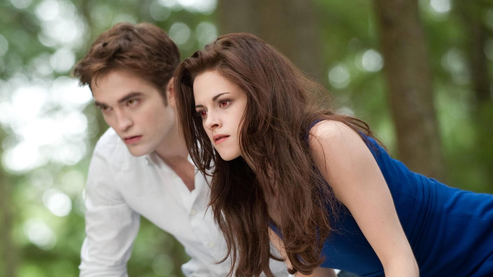 Schock: Bella und Edward müssen in Zukunft ohne ihr Zeug auskommen.