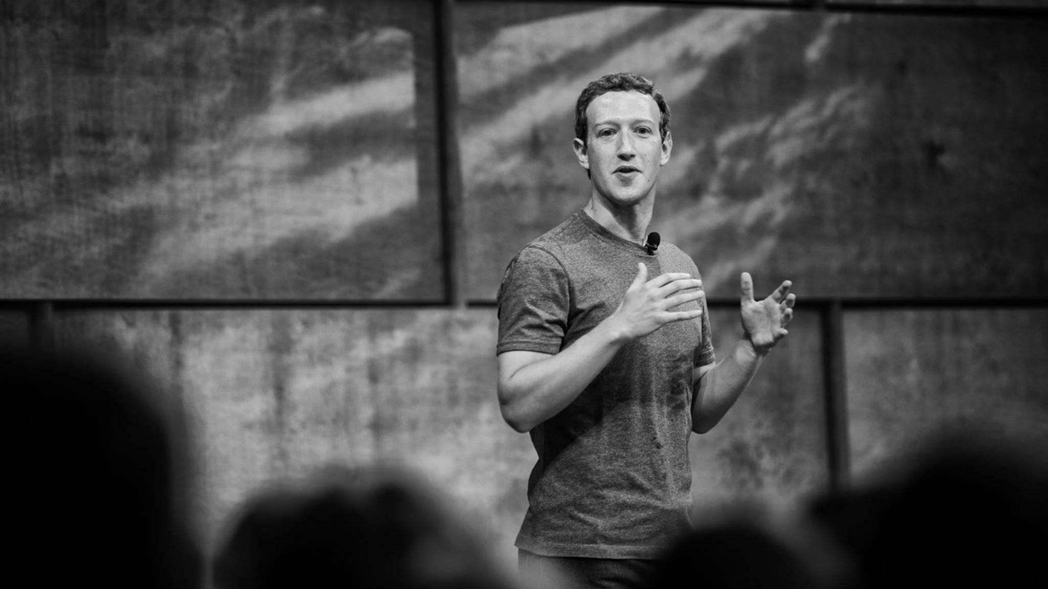 Sogar Facebook-Gründer Mark Zuckerberg war vom Facebook-Bug betroffen.