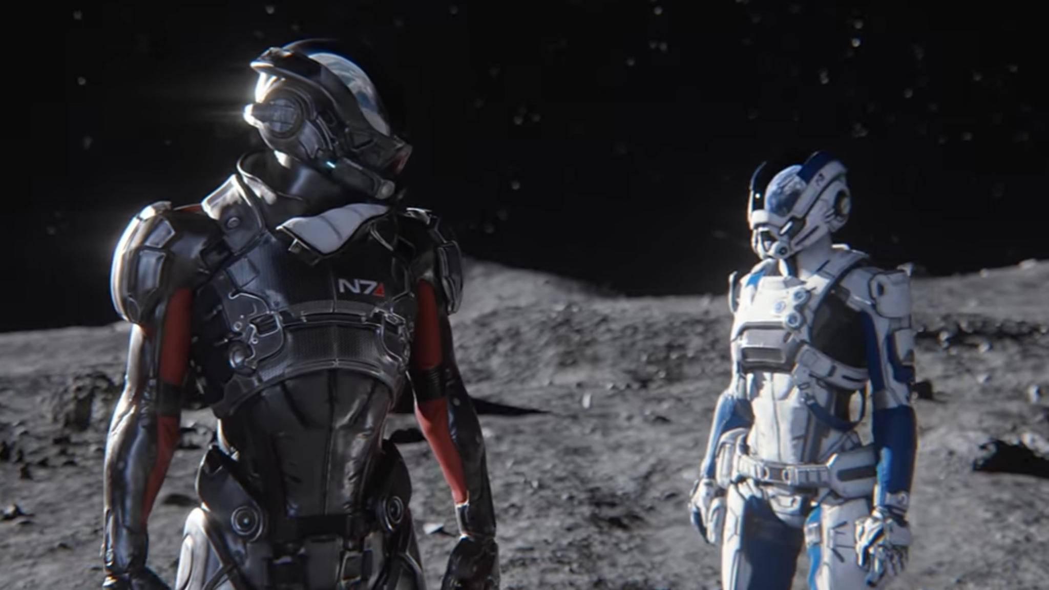 Mass Effect Andromeda Vier Crew Mitglieder Vorgestellt