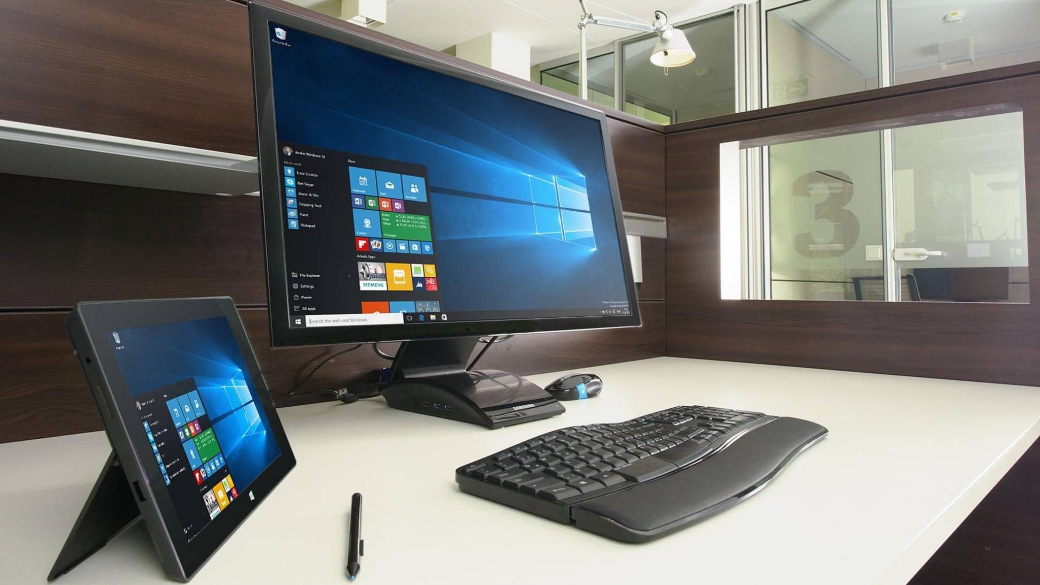 Du kannst auf dem Windows 10-Sperrbildschirm mit wenigen Klicks eigene Bilder verwenden.