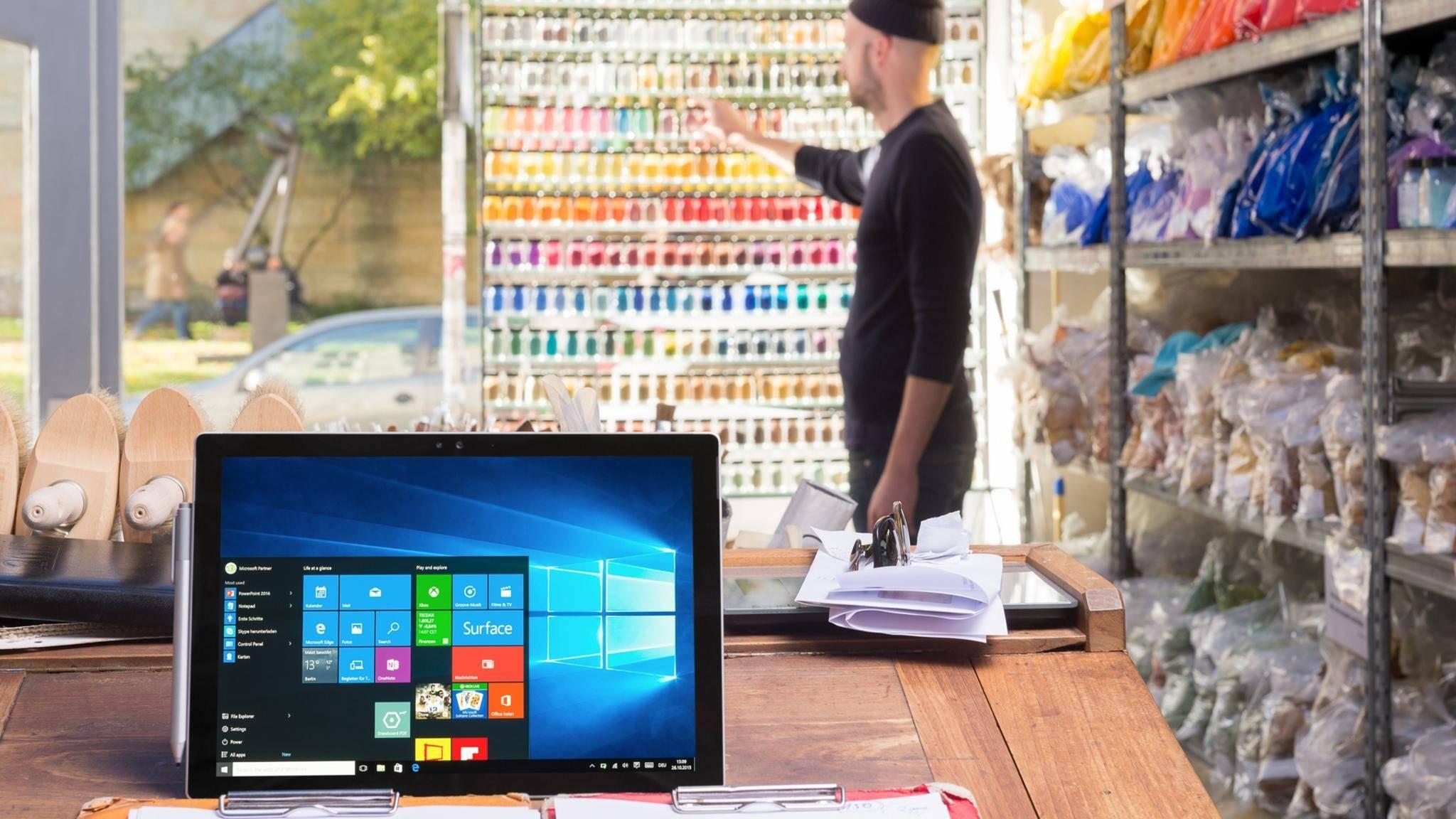 Mehr Kontrolle im Tablet-Modus dank einem versteckten Datei-Explorer in Windows 10.