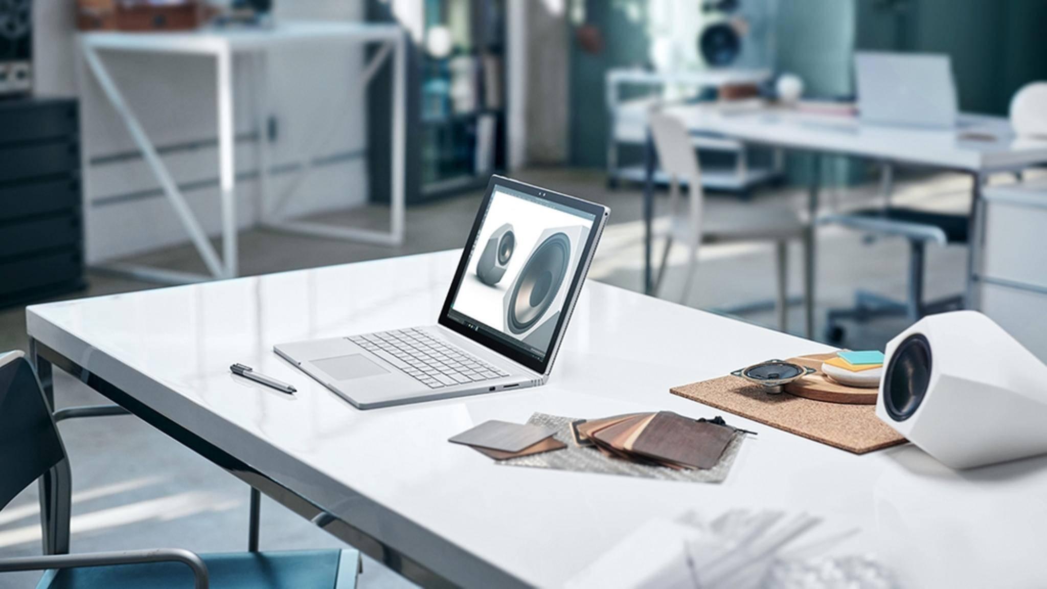 Das Surface Book 2 verzichtet vielleicht auf den Tablet-Modus.