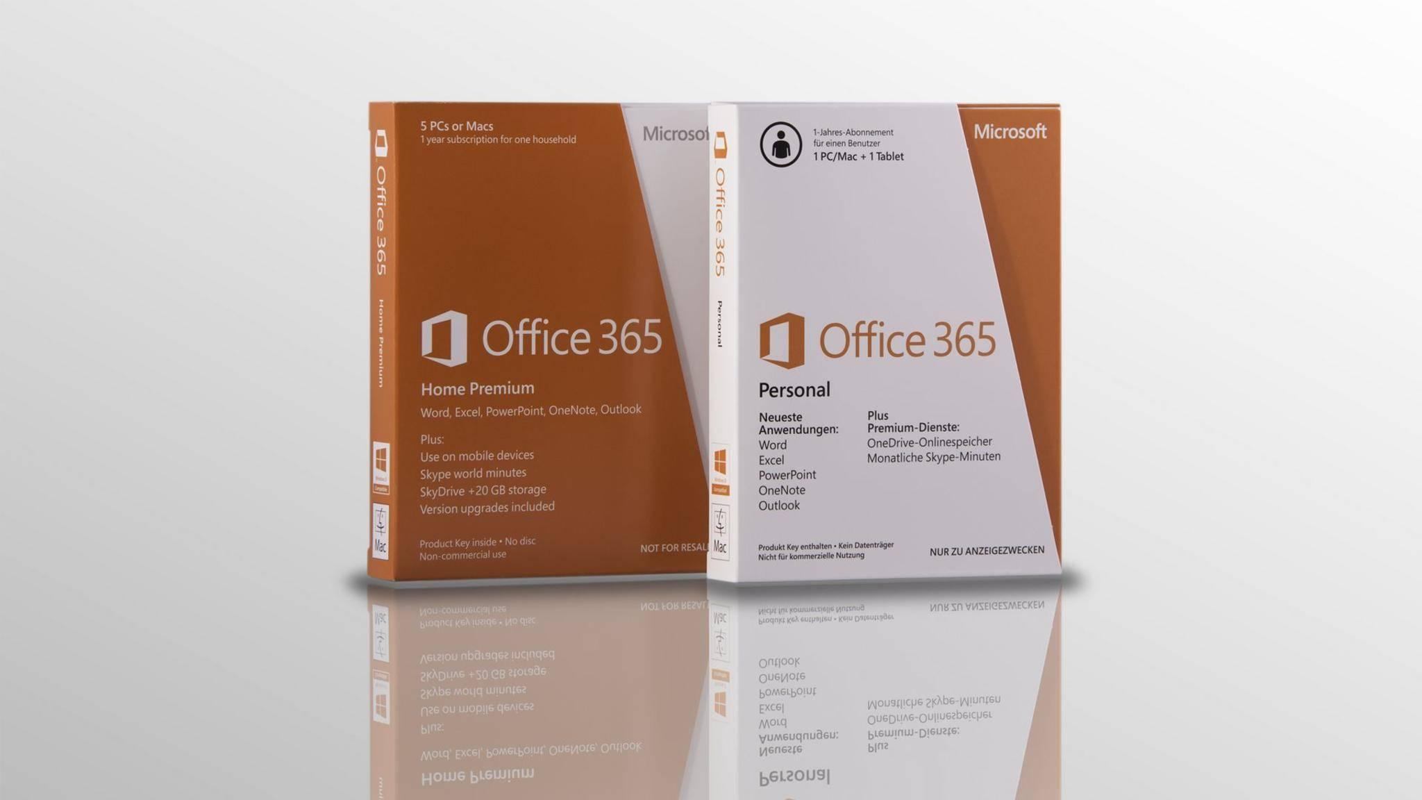 Microsoft Word ist Teil von Office 365.