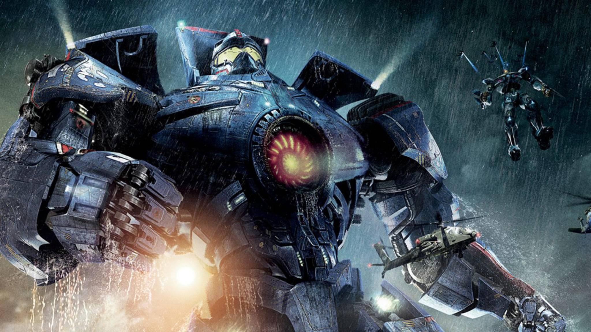 """John Boyega steigt in """"Pacific Rim 2"""" ins Cockpit eines der gewaltigen Jaeger-Roboter."""