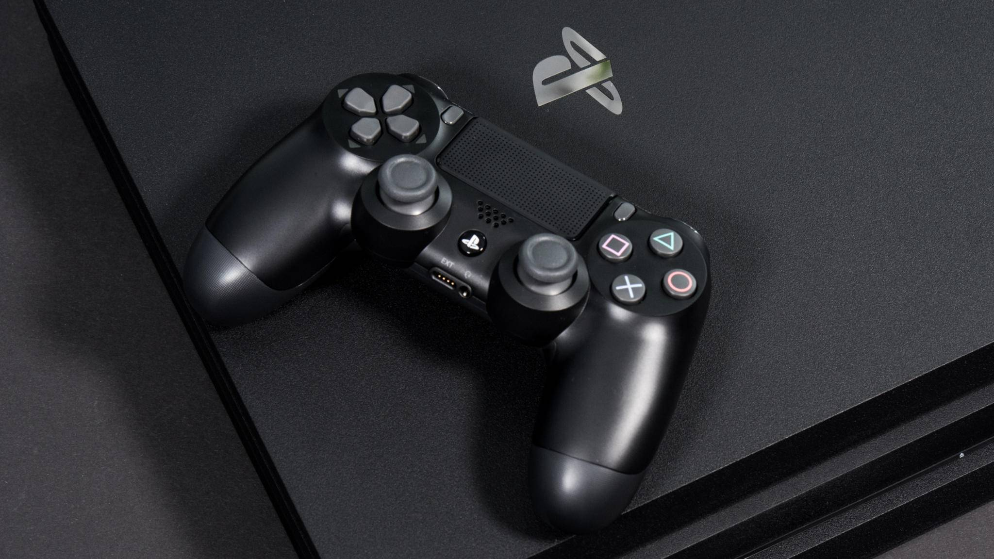 PlayStation 4 Pro Controller Logo