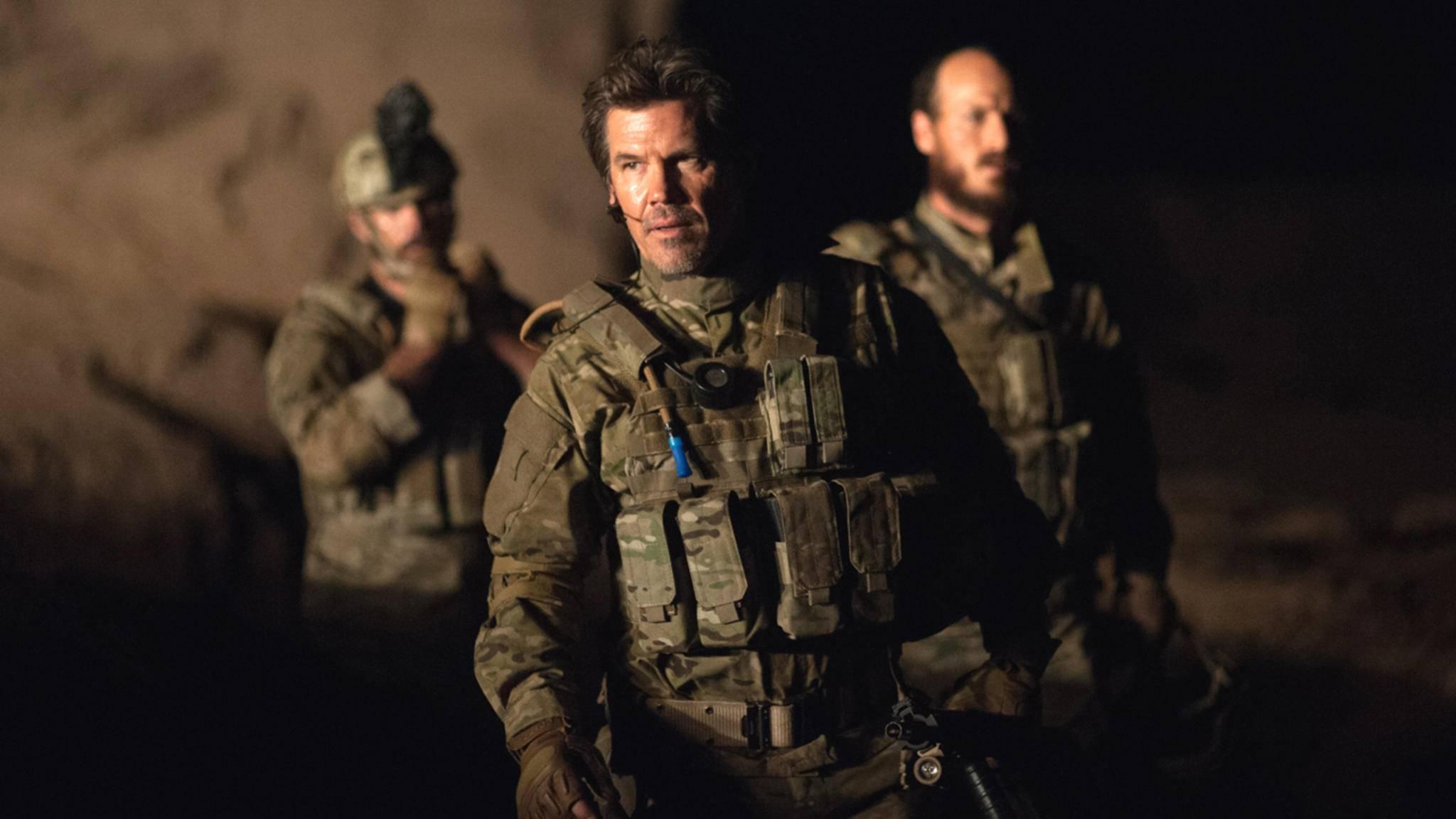 """Josh Brolin (Mitte) ist auch in der """"Sicario""""-Fortsetzung """"Soldado"""" wieder mit von der Partie."""