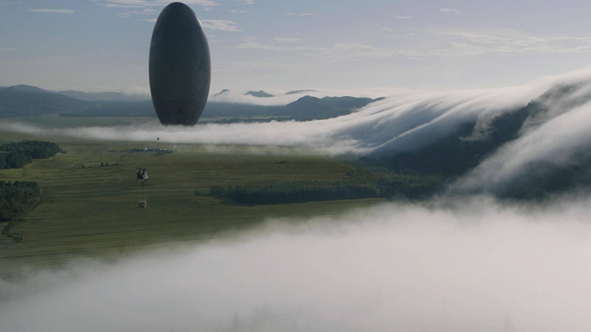 """Was wollen die hier? In Science-Fiction-Filmen wie """"Arrival"""" steht die Kommunikation mit den Aliens im Vordergrund. In anderen Weltraumepen geht es eher deftig zur Sache..."""