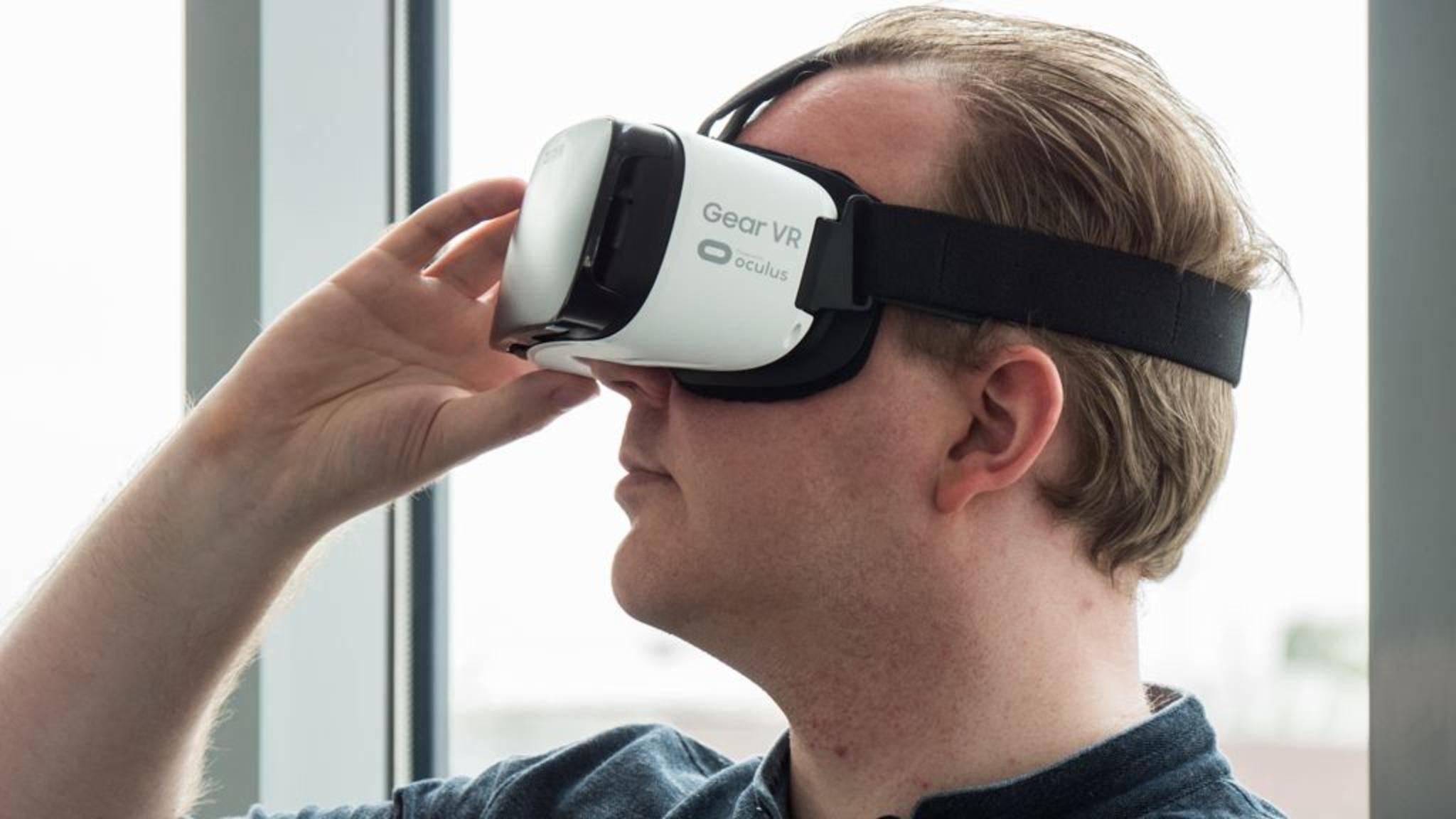 Die neue Gear VR soll mit einem Controller auf den Markt kommen.