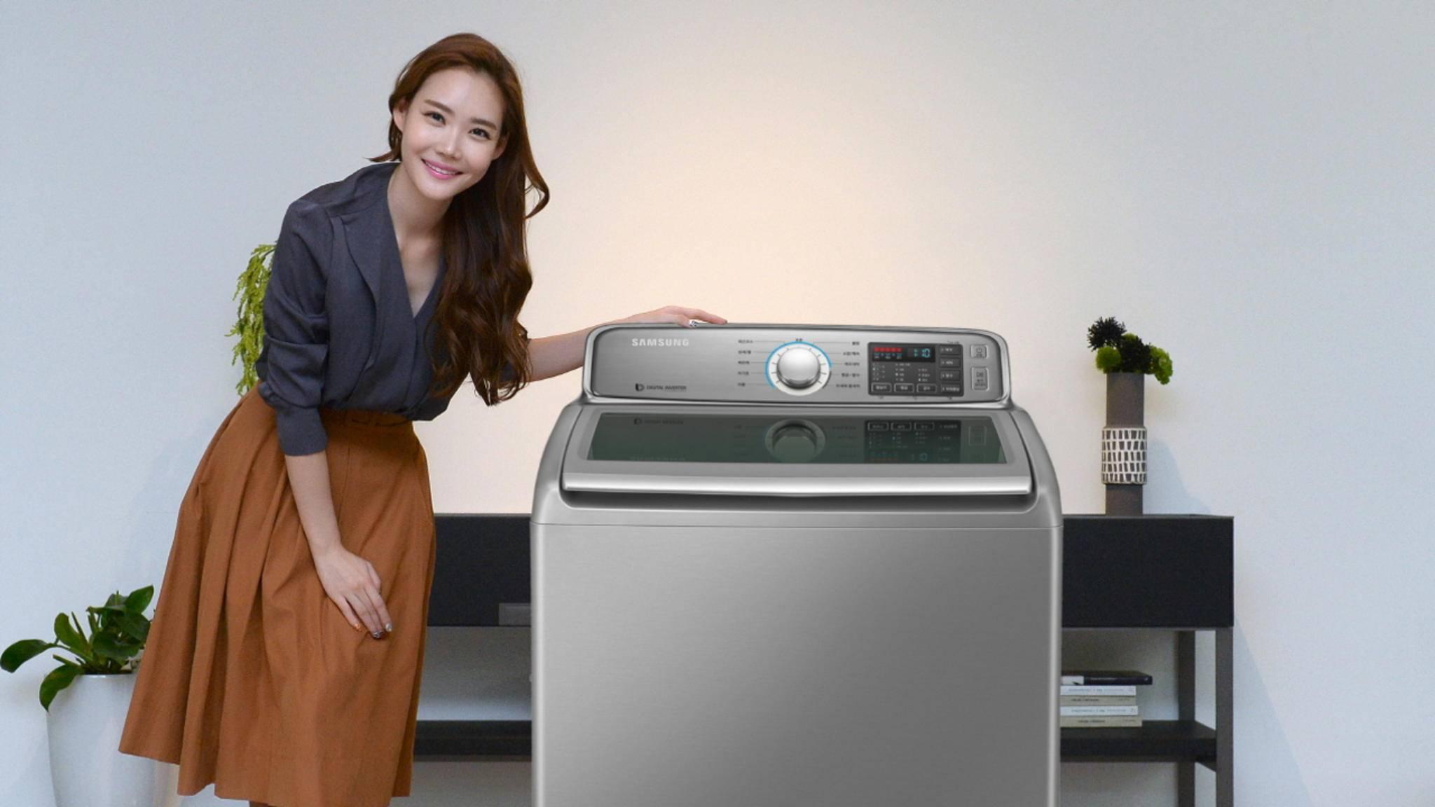 Vom Rückruf betroffen sind nur Samsung-Toploader-Waschmaschinen.