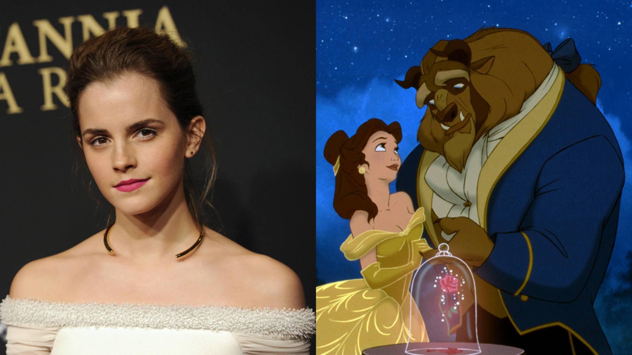 Es gibt erste Bilder von Emma Watson als Belle.