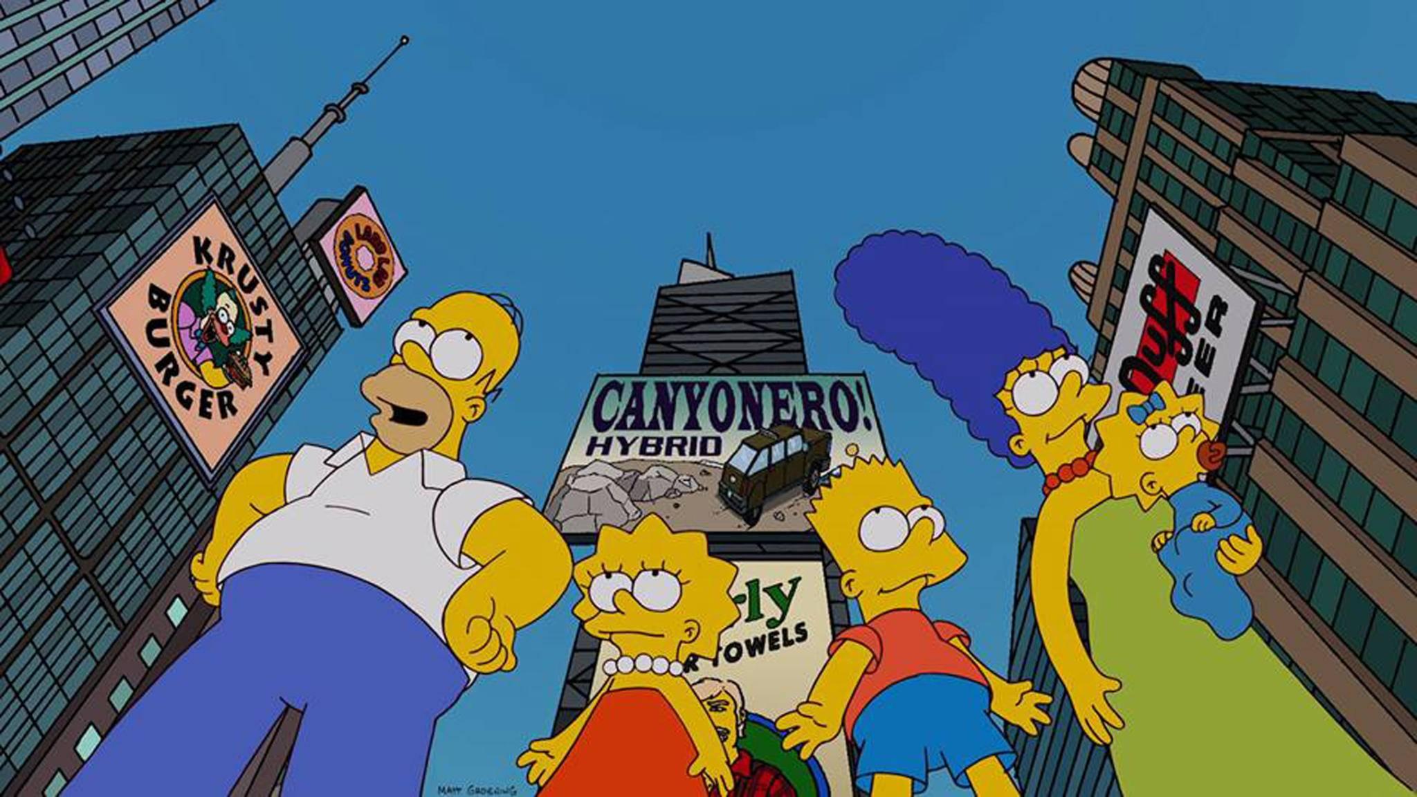 """Noch lange kein Ende in Sicht: """"Die Simpsons"""" werden für mindestens zwei Staffeln weitermachen."""