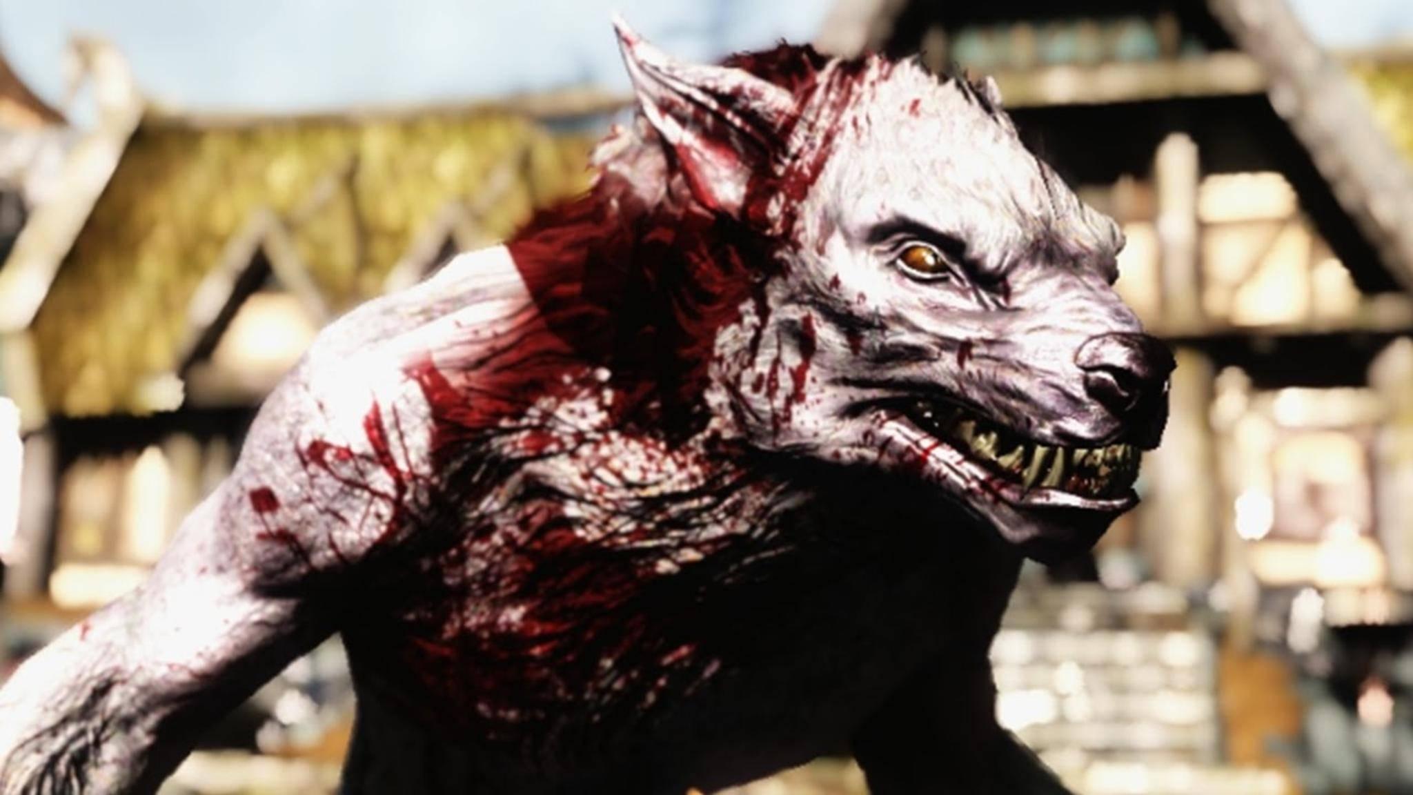 """Als Werwolf kannst Du in """"Skyrim"""" ordentlich austeilen."""