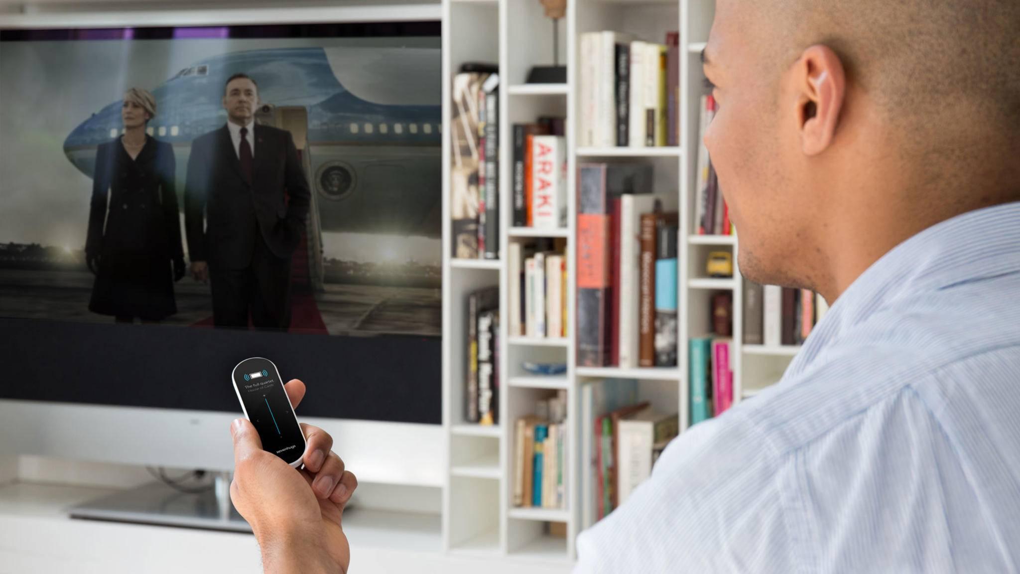 Natürlich kann die Smart Remote für Netflix genutzt werden.