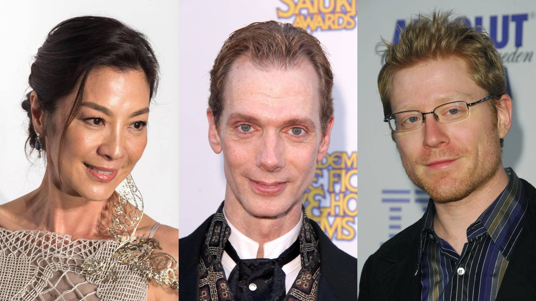 """Michelle Yeoh, Doug Jones und Anthony Rapp (v.l.n.r.) stehen jetzt offiziell auf der Besetzungsliste von """"Star Trek: Discovery""""."""