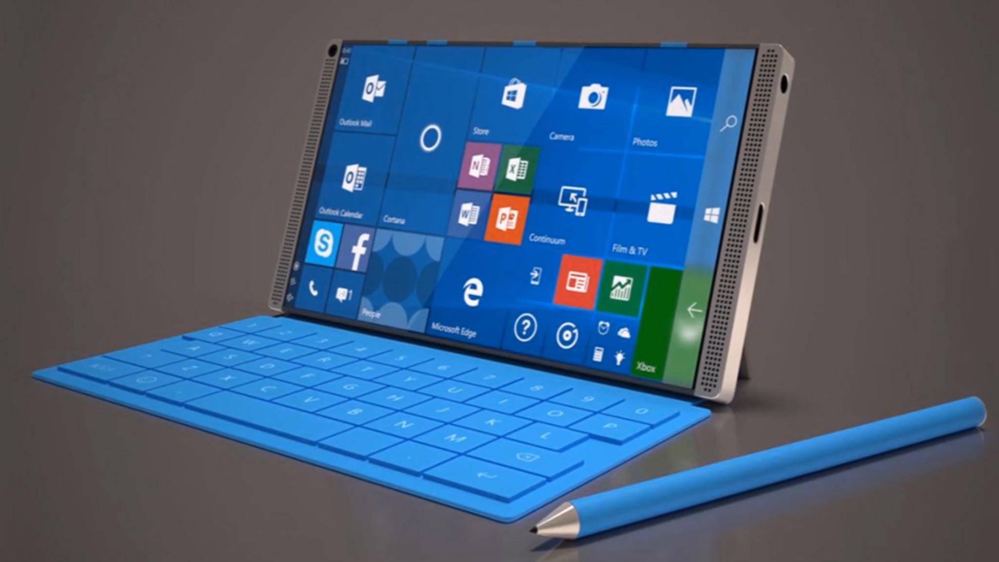 Surface Phone-Prototypen sollen bereits getestet werden.