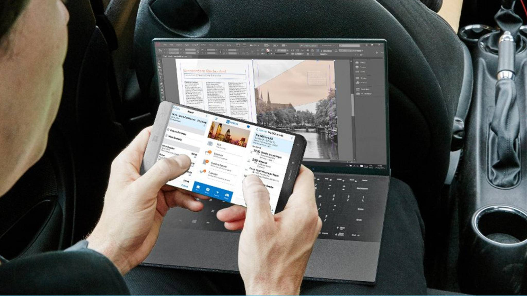 Das Surface Phone könnte Continuum mit echten Desktop-Apps ermöglichen.