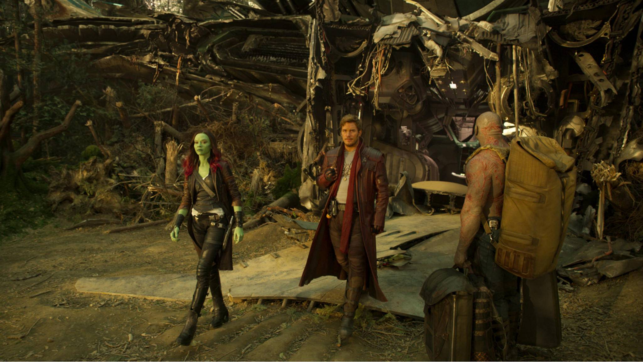 Bei ihrer Landung auf der Erde sollen die Guardians of the Galaxy sich verändert haben.