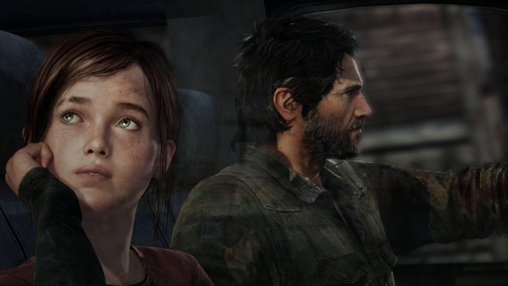 """Schauen nostalgisch zurück auf die PS3-Ära: Ellie und Joel aus """"The Last of Us""""."""
