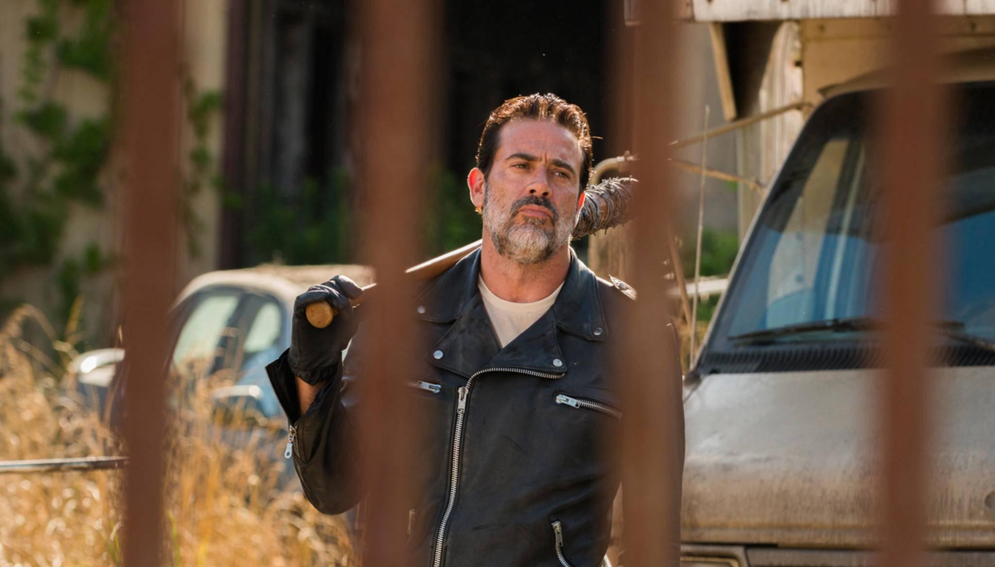 """Kein Ende in Sicht: Negan wird auch in Staffel 8 die """"The Walking Dead""""-Gemeinde terrorisieren."""