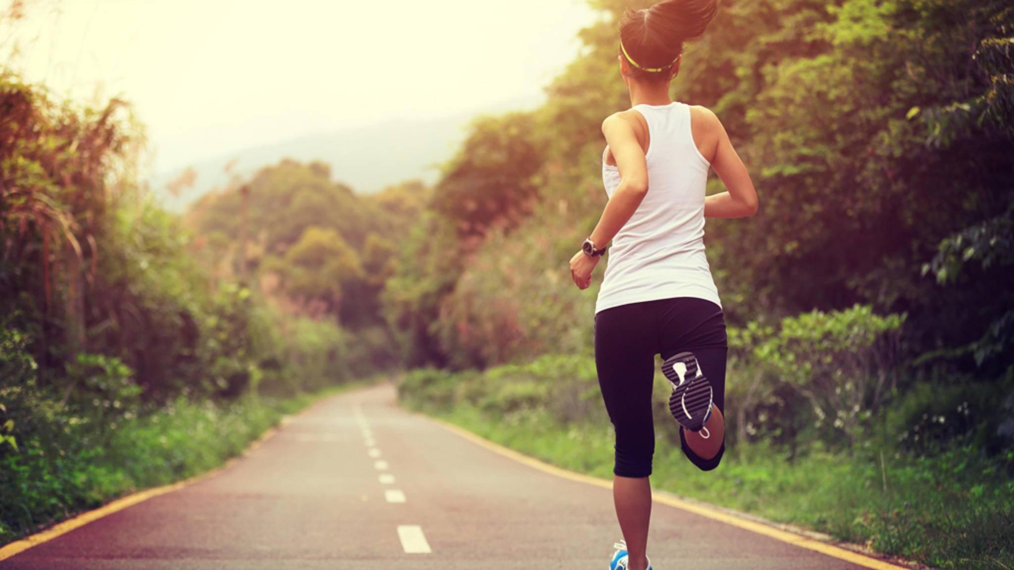 Beim Laufen lässt sich die Intensität des eigenen Trainings besonders gut steuern.