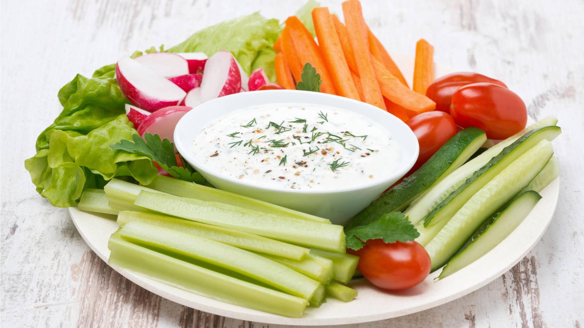 Joghurt wird 2017 mit Gemüse aromatisiert.