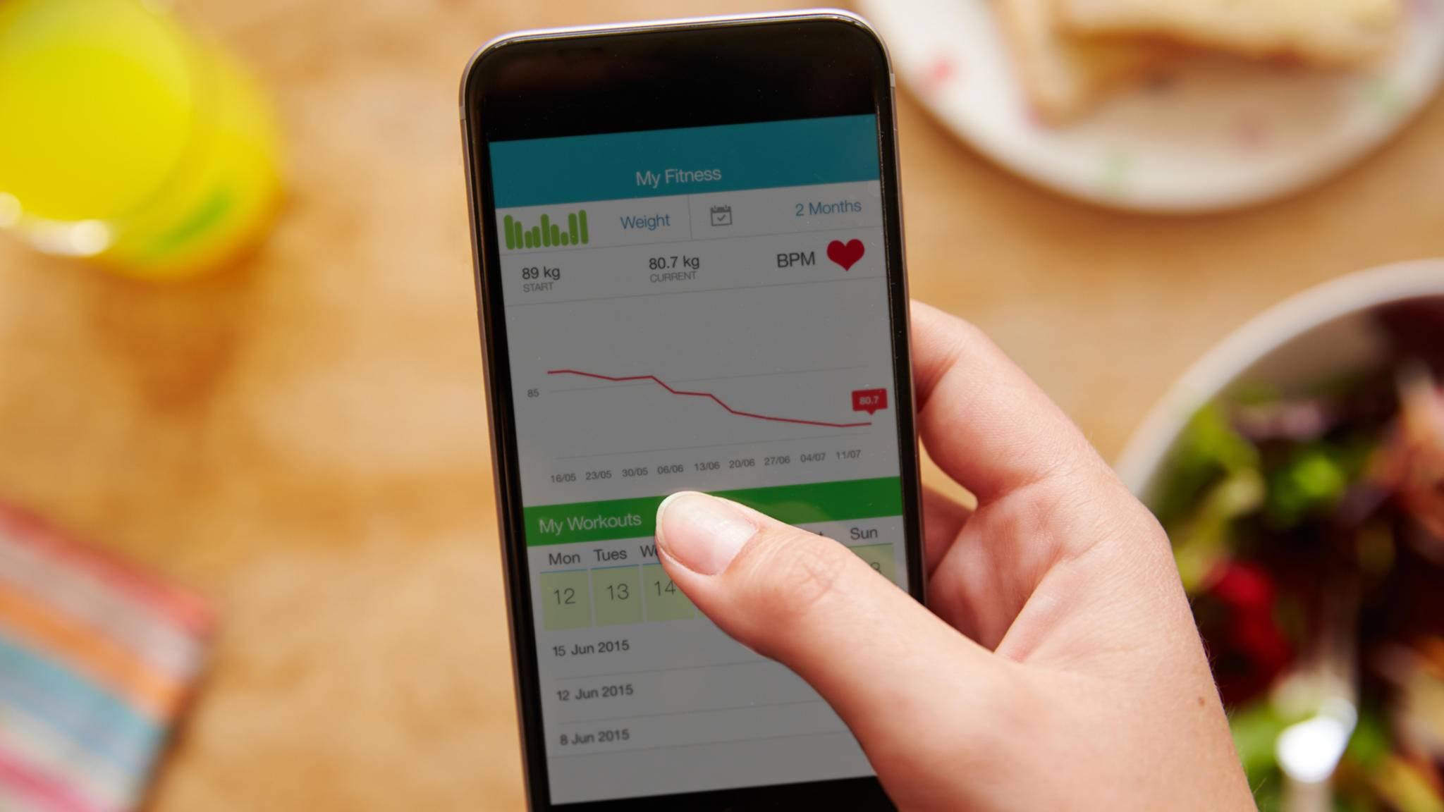 Nicht alle Fitness-Apps sind auch sinnvoll.