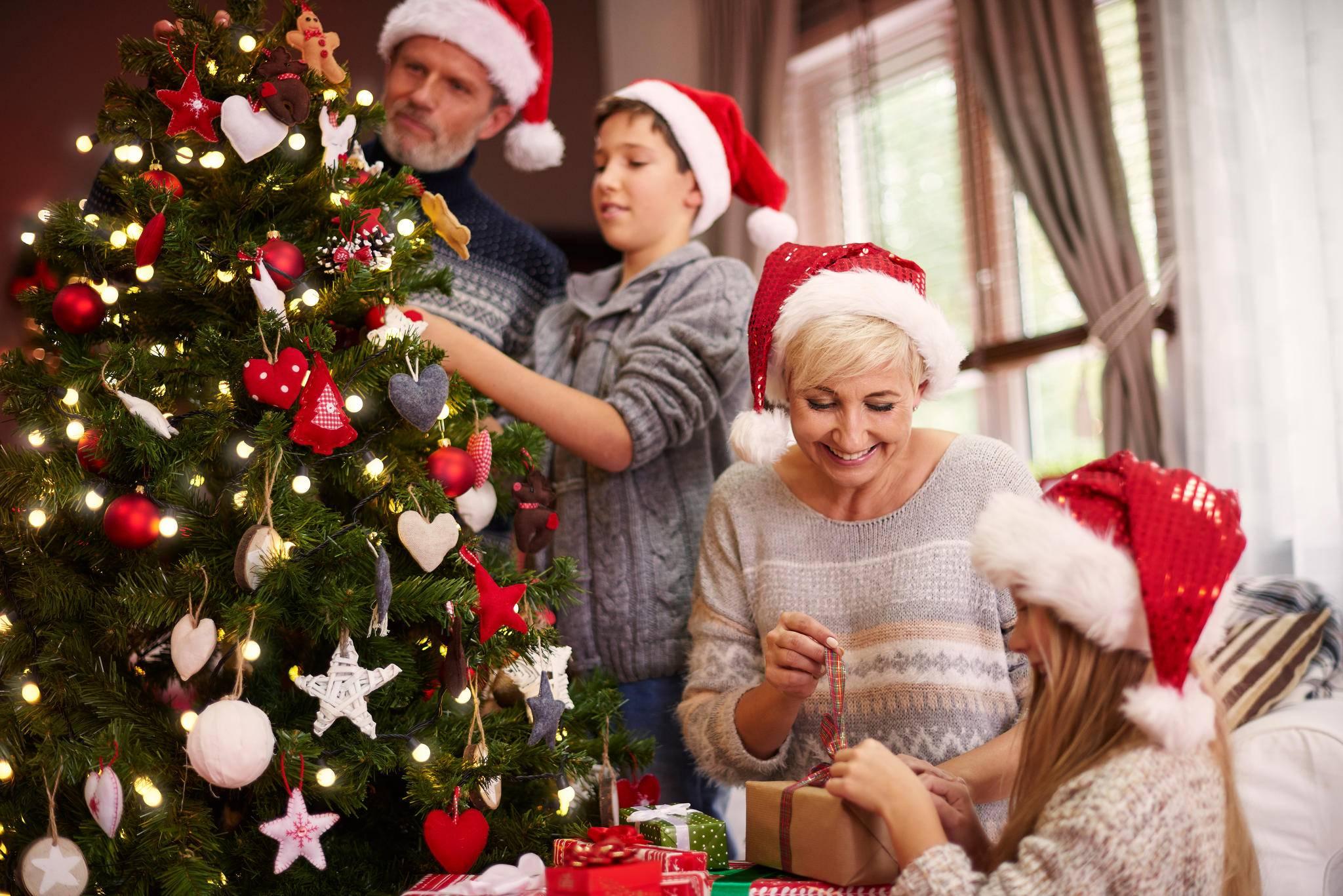 Auch wenn Weihnachten nicht abläuft wie im Bilderbuch – nimm's gelassen!
