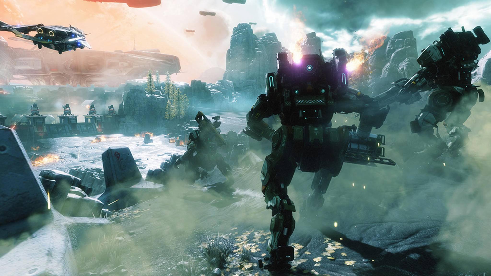 """EA veröffentlichte """"Titanfall 2"""" zur selben Zeit wie """"Battlefield 1""""."""