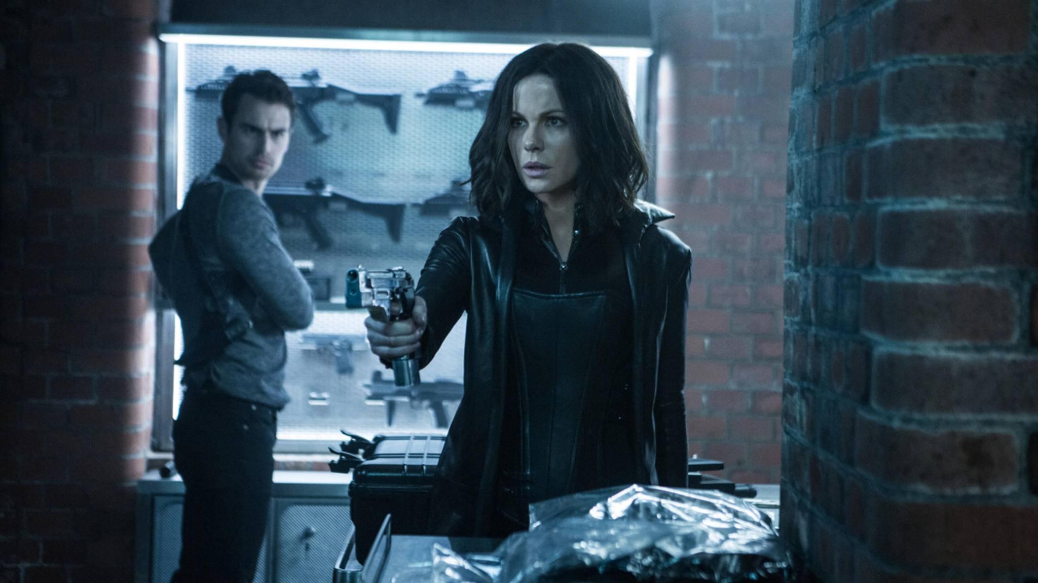 """Klappe, die Fünfte: Selene (Kate Beckinsale) nimmt es in """"Underworld: Blood Wars"""" erneut mit den Lykanern auf."""