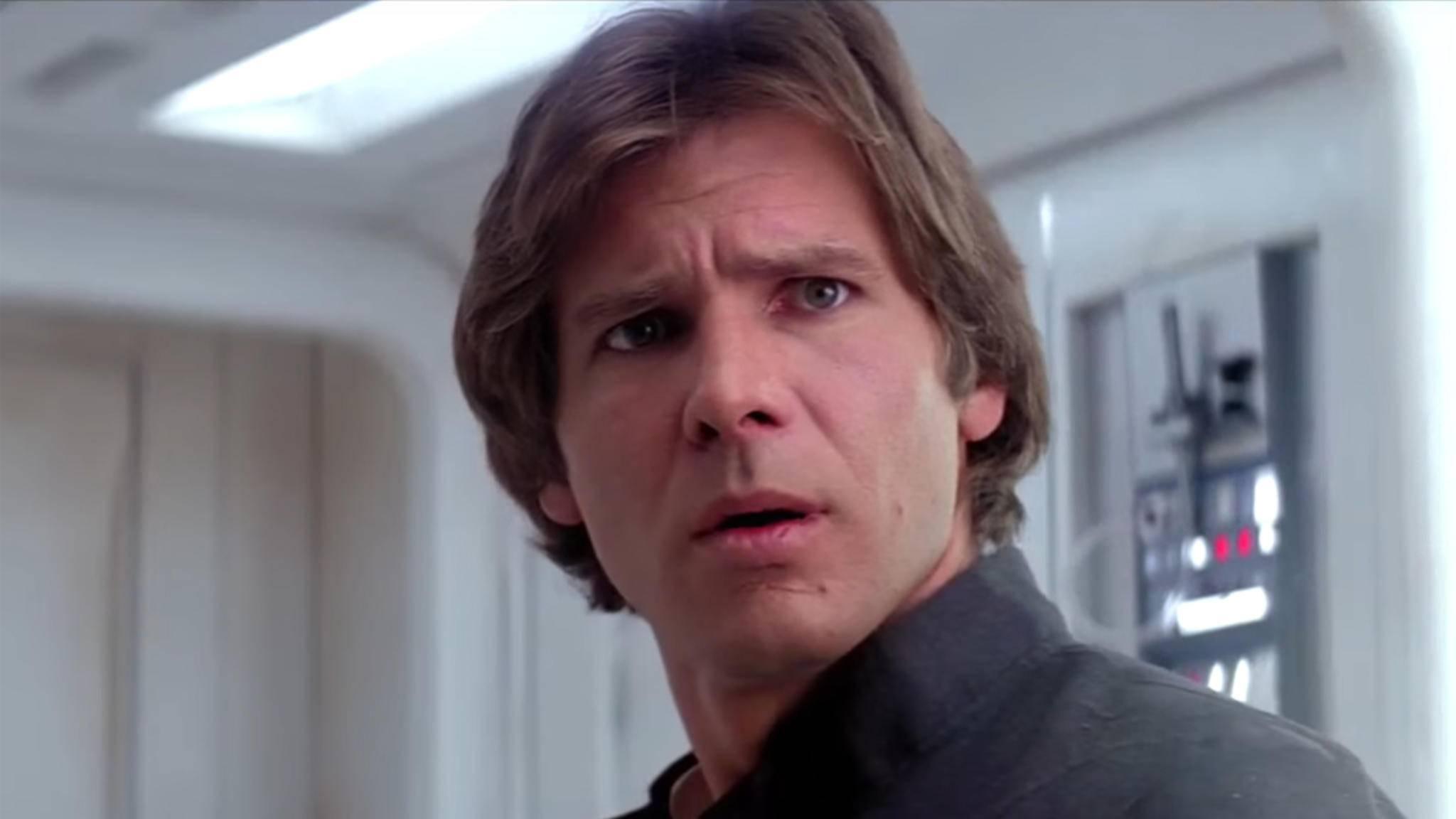 """Sollte zumindest nach dem Wunsch von Darsteller Harrison Ford sterben: """"Star Wars""""-Held Han Solo."""