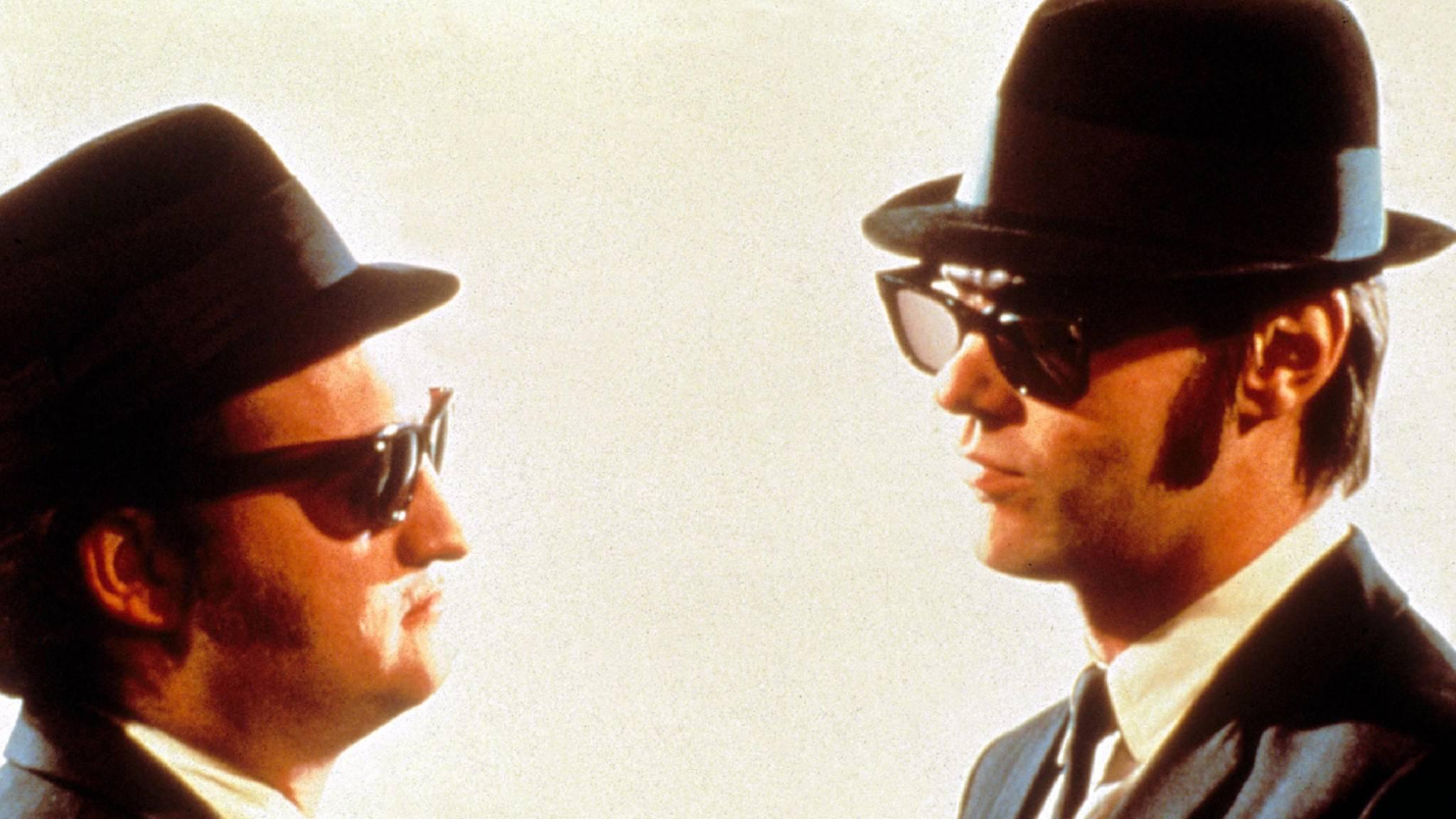 """Sonnenbrillen, gute Musik, lockere Sprüche: """"Blues Brothers"""" wird auch bei wiederholtem Gucken nicht langweilig."""