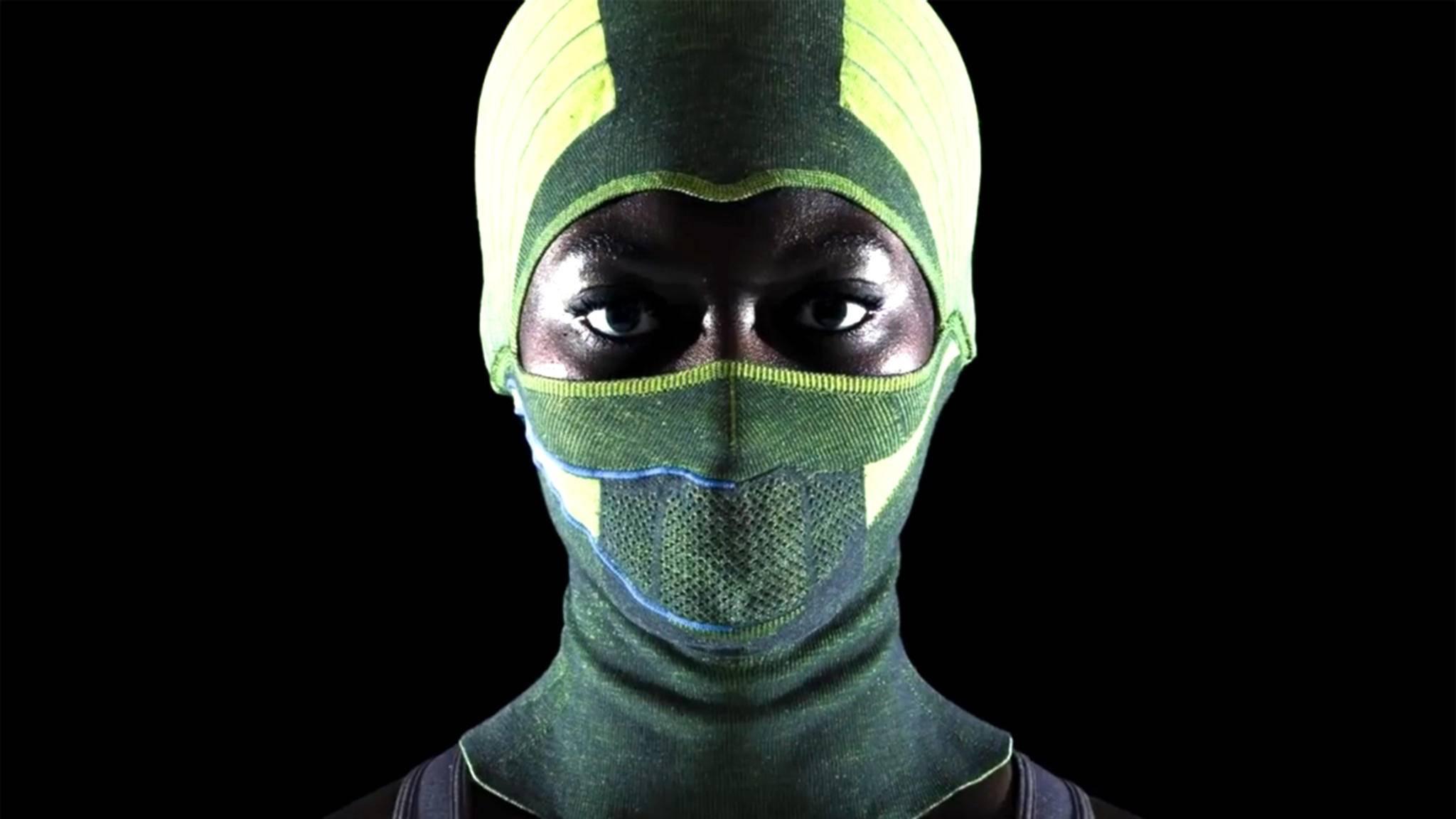 Für Outdoor-Ninjas: die beheizbare Sturmhaube von Stoll.