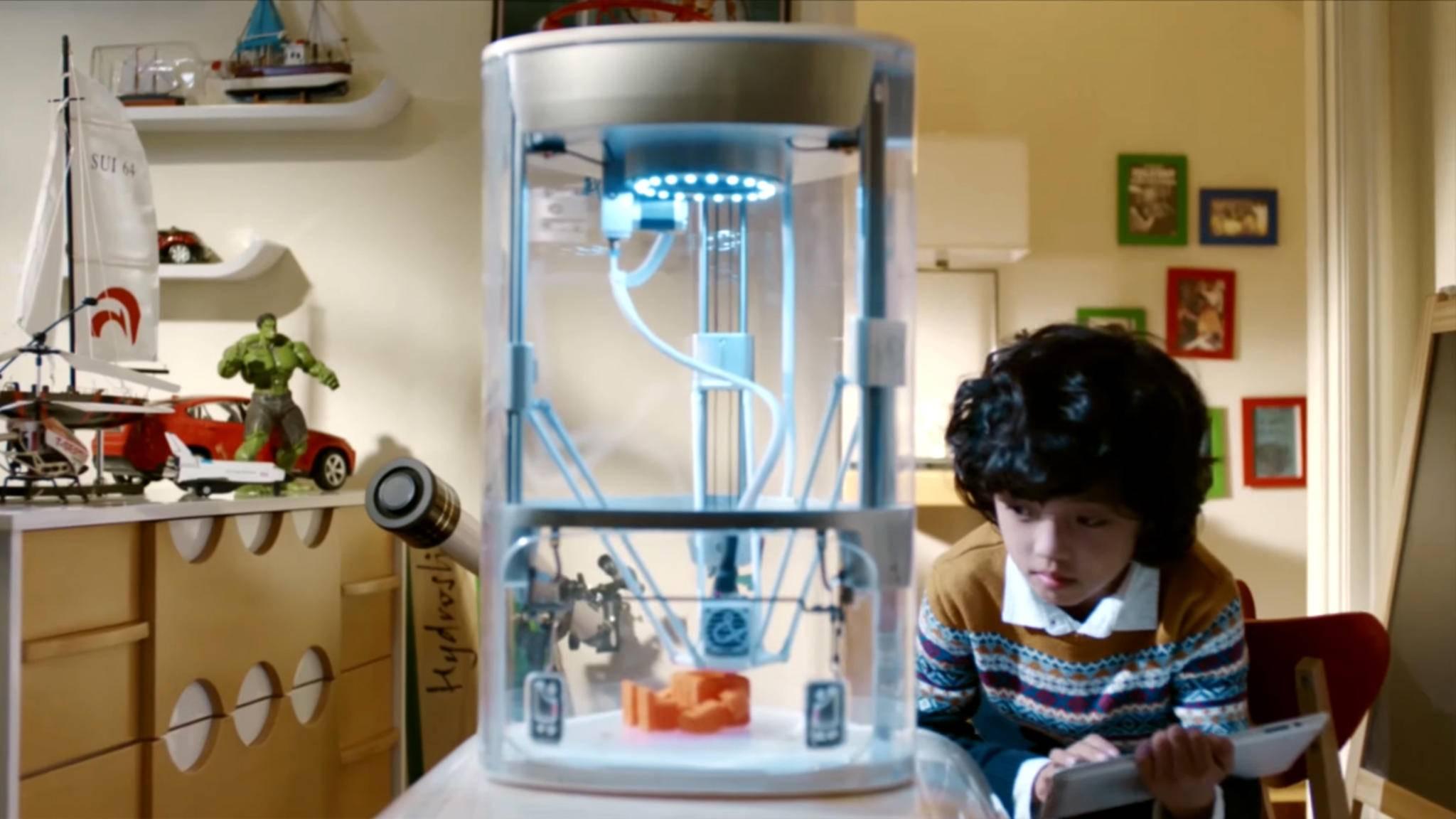 Der 3D-Drucker Yeehawrichtet sich explizit an Kinder.
