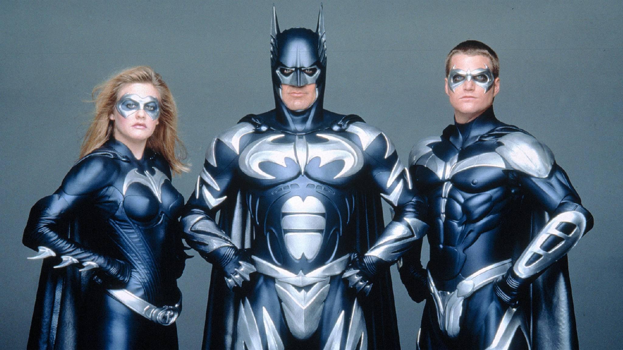 """Bis hierher und nicht weiter! Nach """"Batman & Robin"""" war bei dem Fledermausmann 1997 erst mal die Luft raus."""