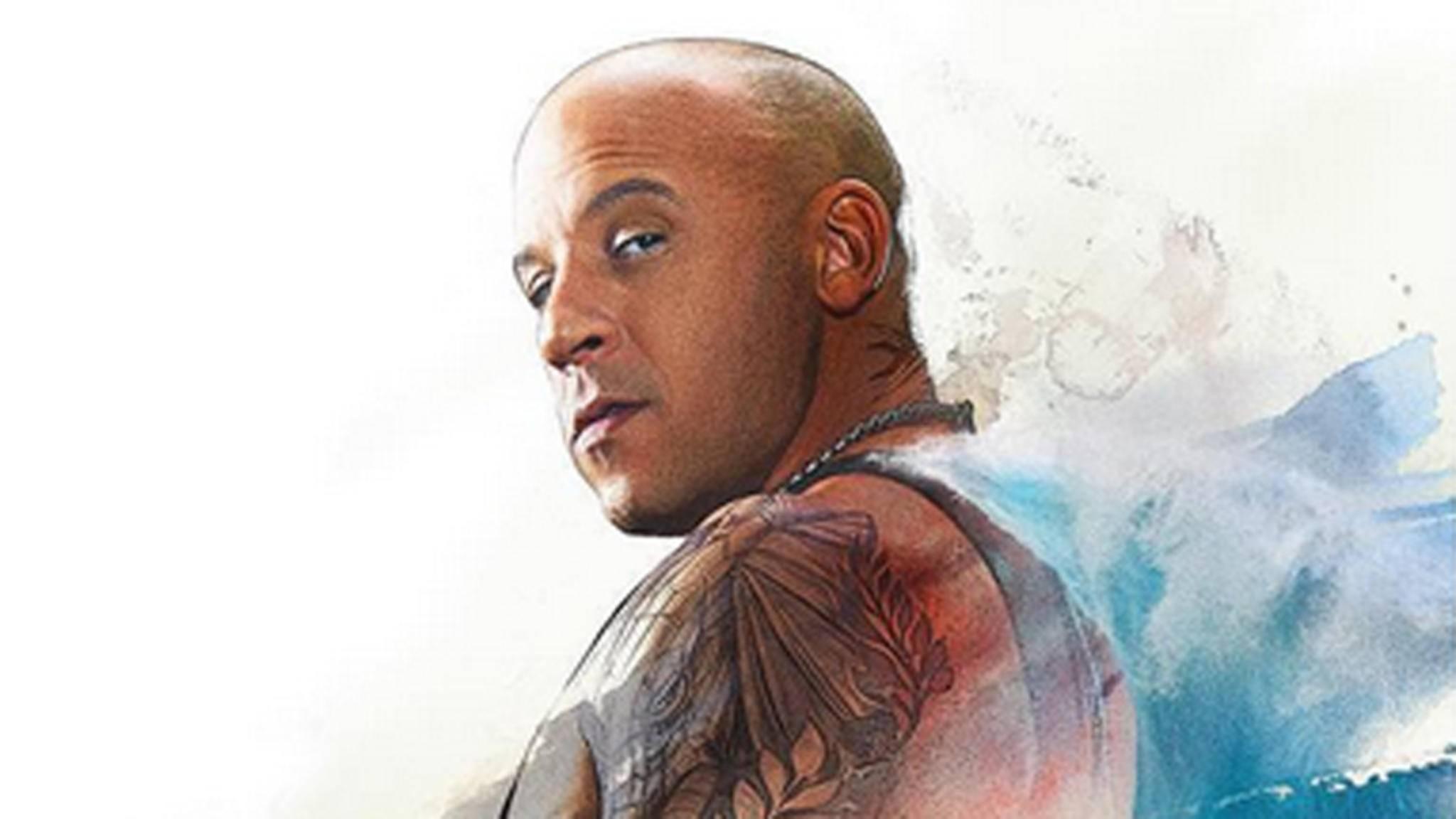 """Genau diesen Blick perfektioniert Vin Diesel alias Xander Cage auch in """"xXx 3""""."""