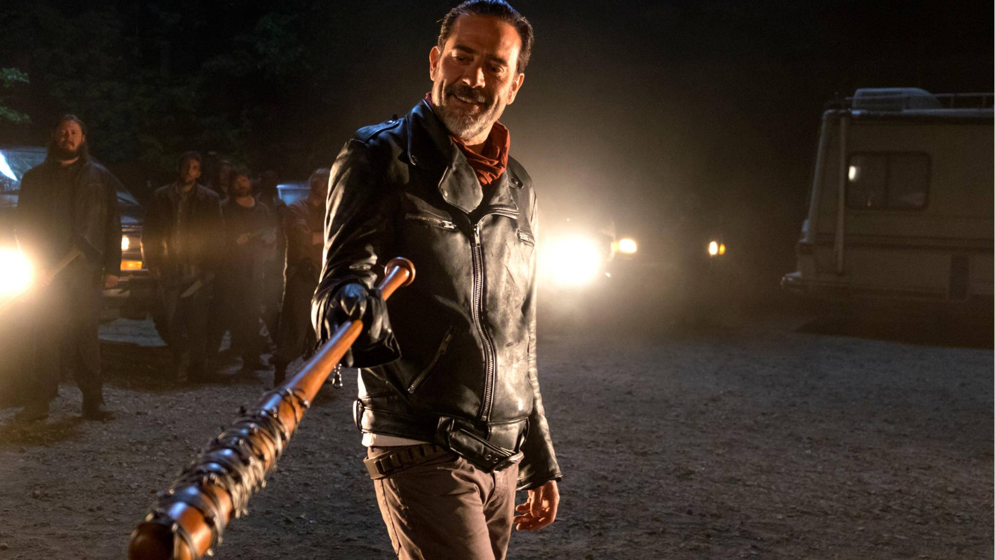 "Negan (Jeffrey Dean Morgan) verbreitet in ""The Walking Dead"" Angst und Schrecken."