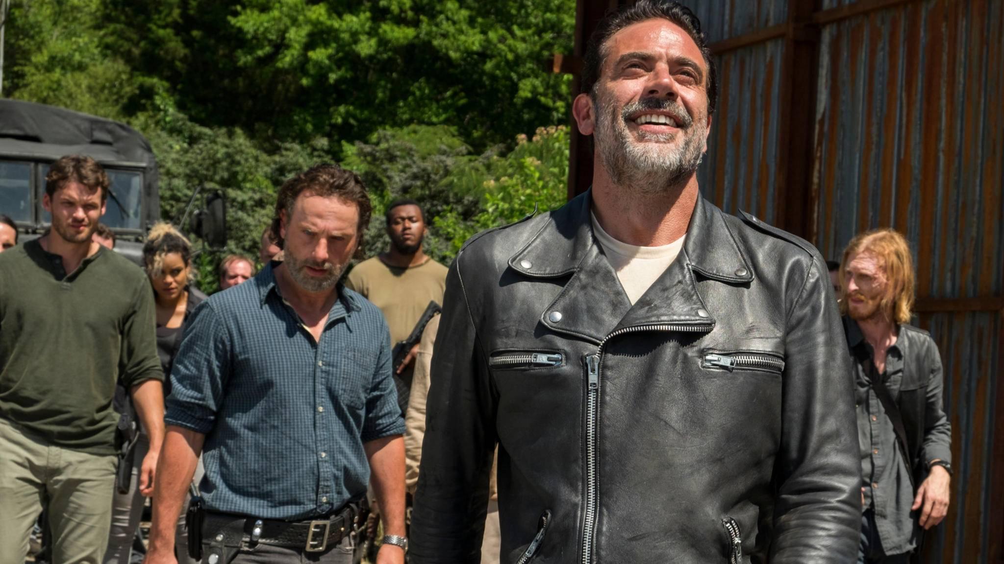"""Daddy is home! """"The Walking Dead""""-Star Jeffrey Dean Morgan kehrt in Folge 300 zu """"Supernatural"""" zurück."""