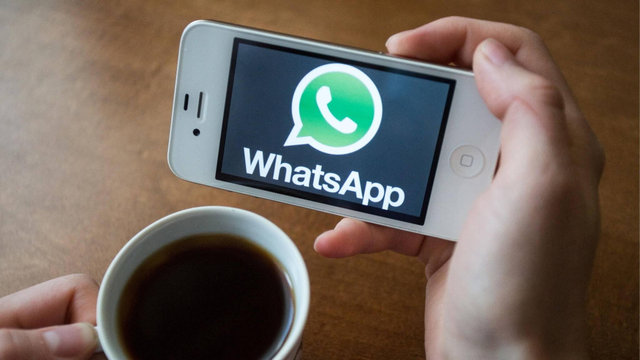 Der Auto-Download von Bildern bei WhatsApp kann deaktiviert werden.