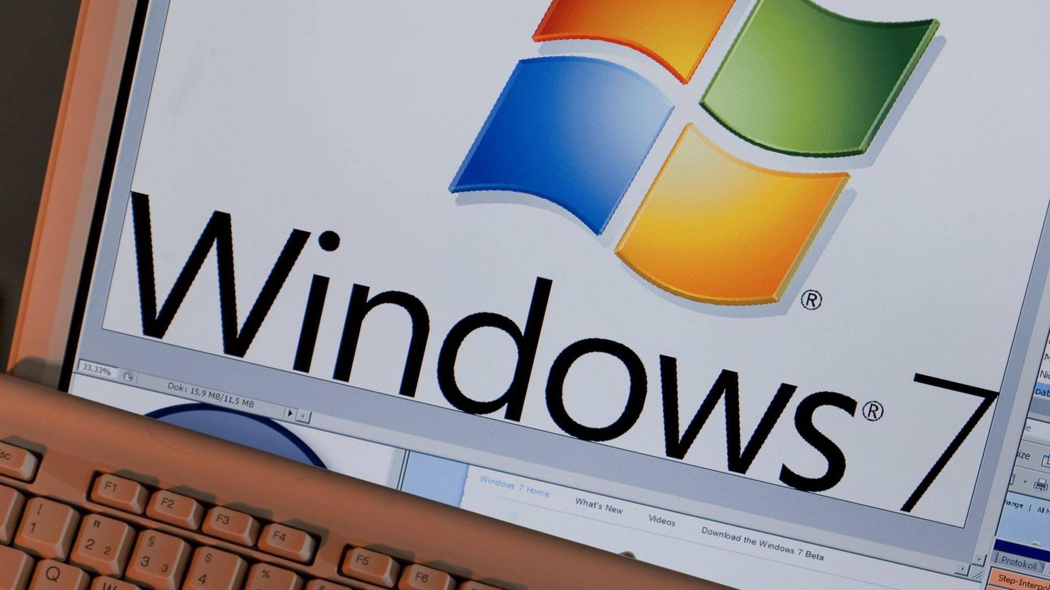 Windows 7 wird von Microsoft nicht mehr verkauft.