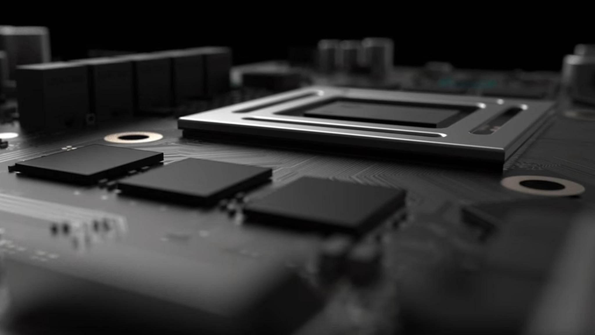 Xbox One Scorpio: Weitere technische Details durchgesickert.
