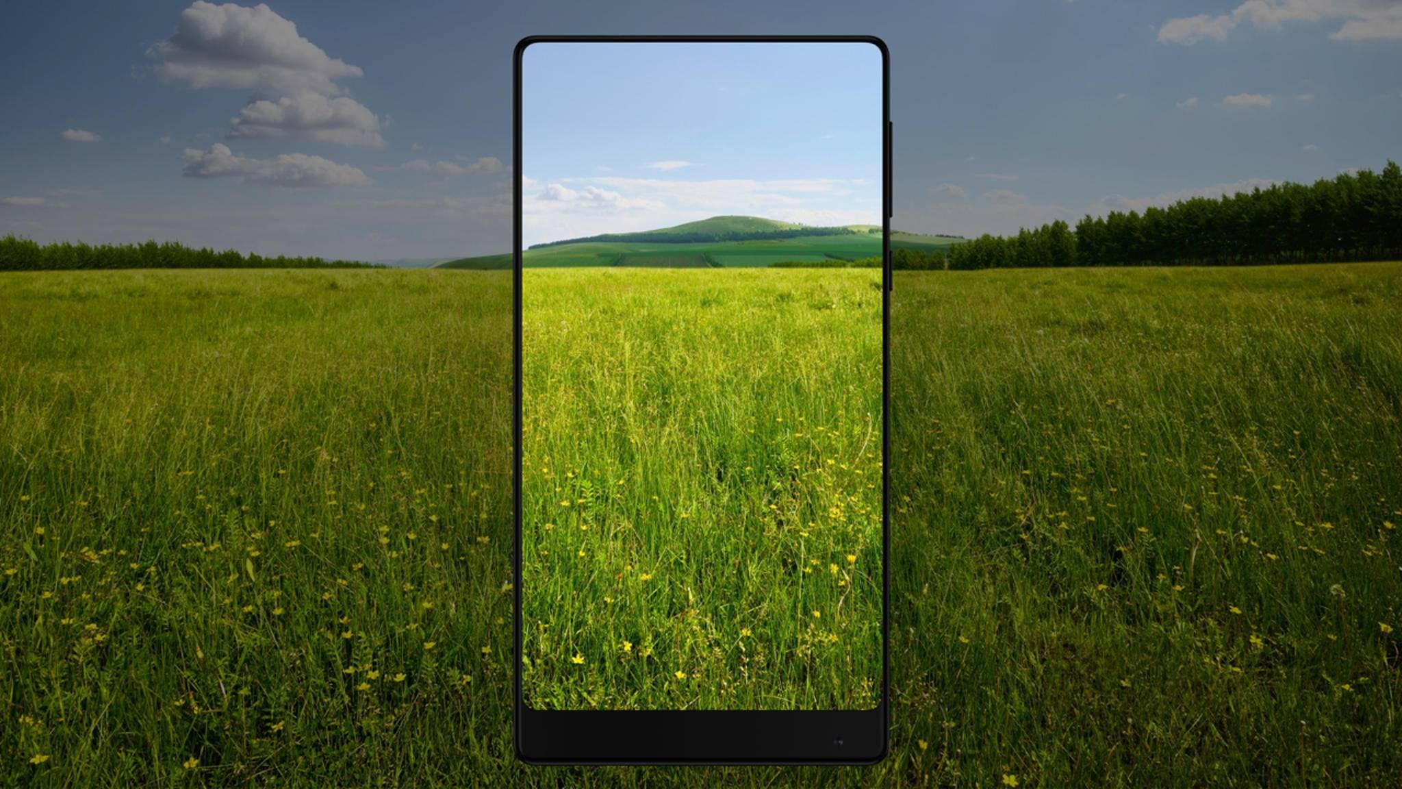 Gerundete Ecken auf dem Display sind bei Xiaomi-Smartphones üblich.