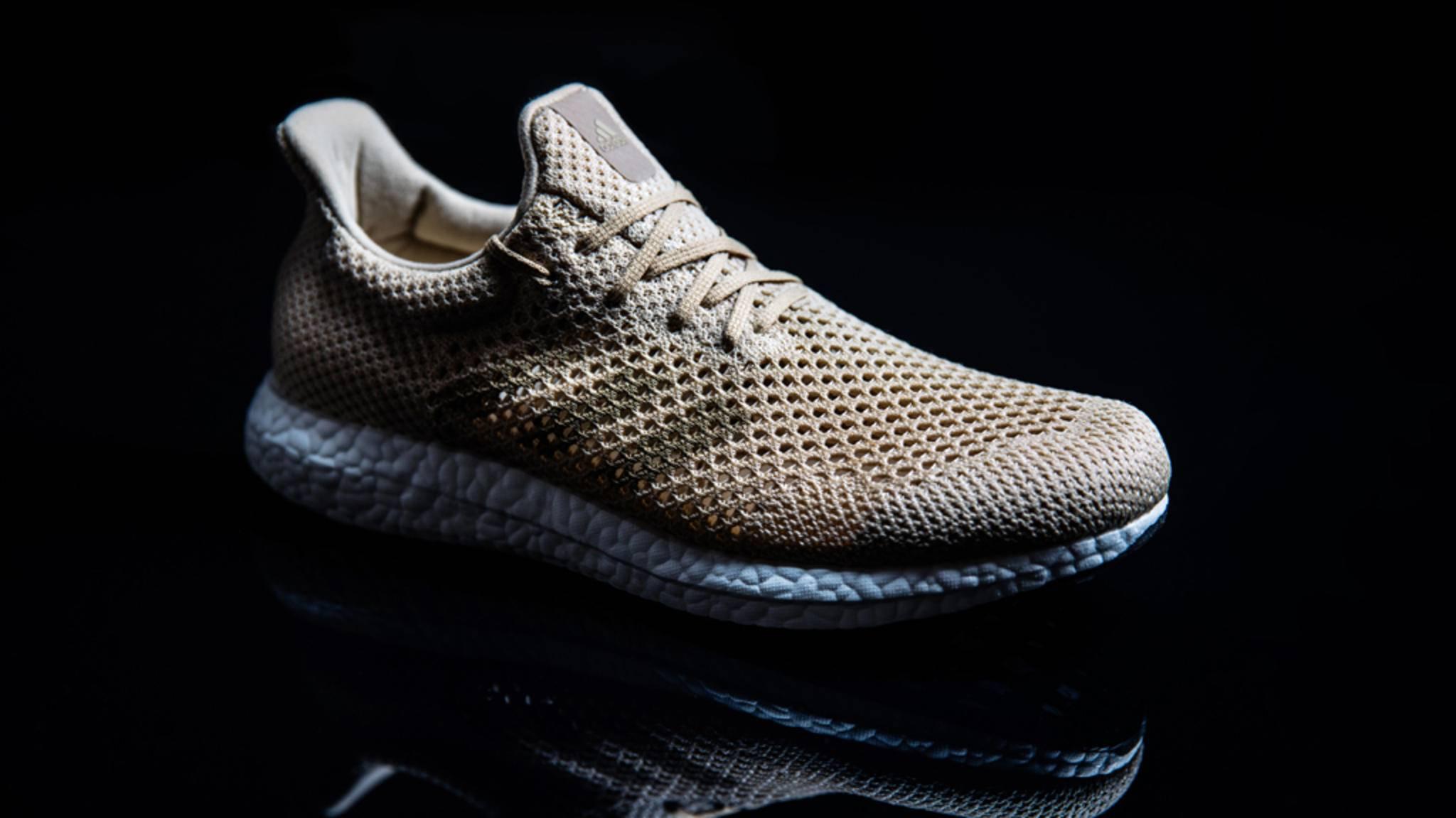 Adidas springt mit biologisch abbaubaren Sneaker auf den Öko-Zug auf.