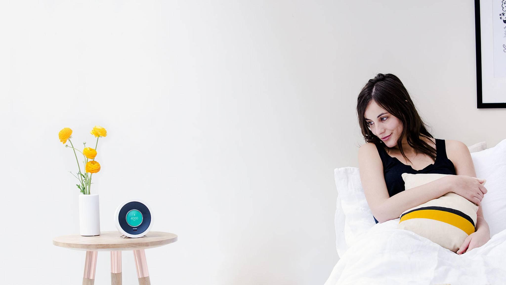 Bonjour ist nicht nur Wecker, sondern eine digitale Assistentin.